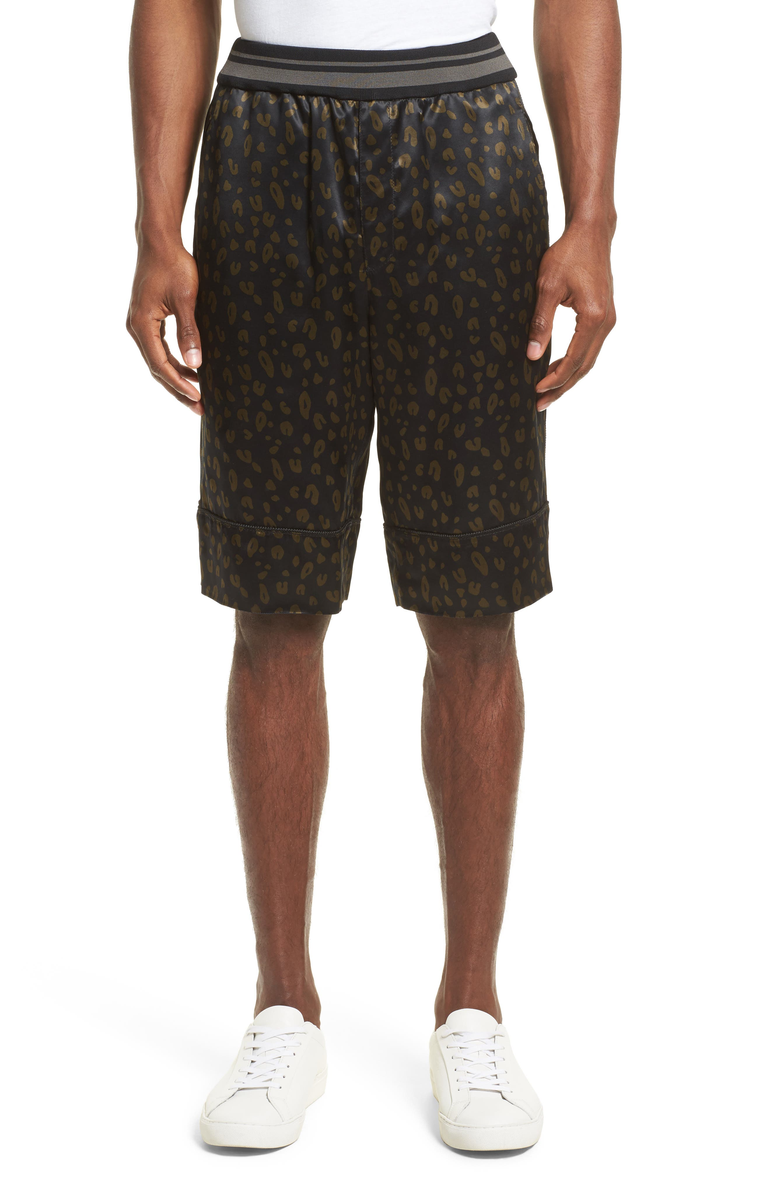 Alternate Image 1 Selected - 3.1 Phillip Lim Reversible Elastic Waist Shorts