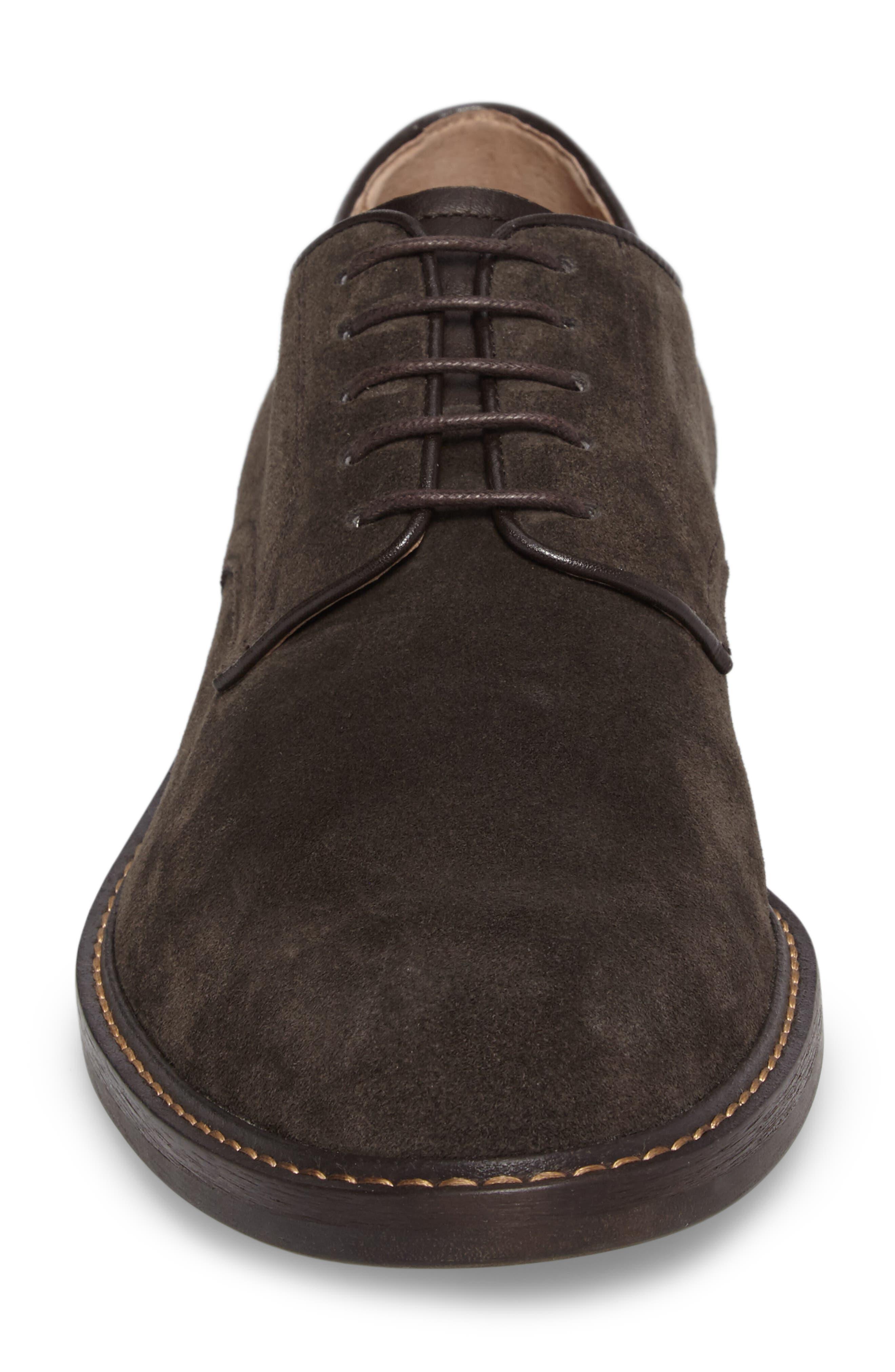 Byron Buck Shoe,                             Alternate thumbnail 5, color,                             Carbon Suede