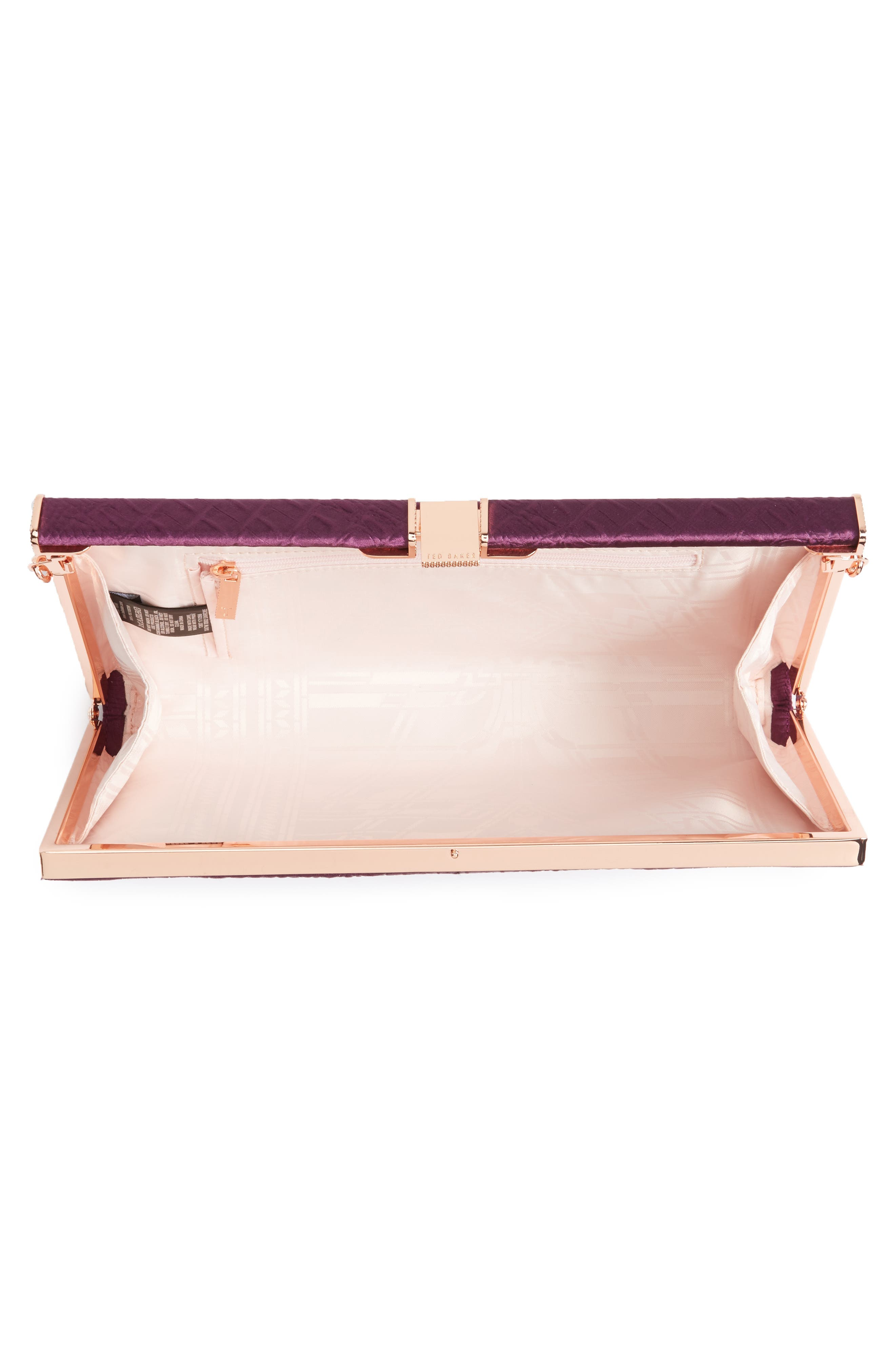 Alternate Image 3  - Ted Baker Darciee Embossed Frame Clutch