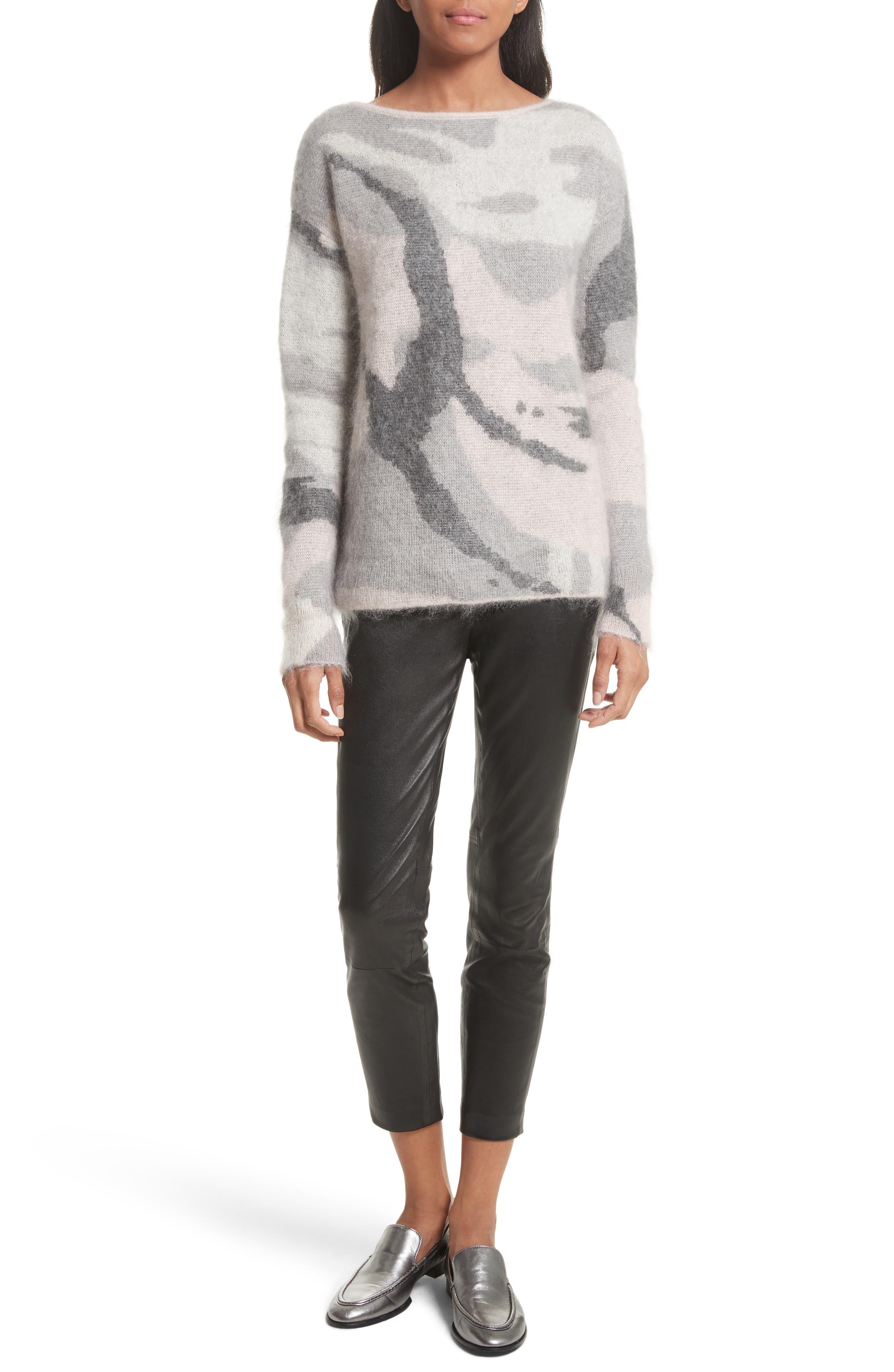Alternate Image 2  - rag & bone Sinclair Camouflage Jacquard Sweater