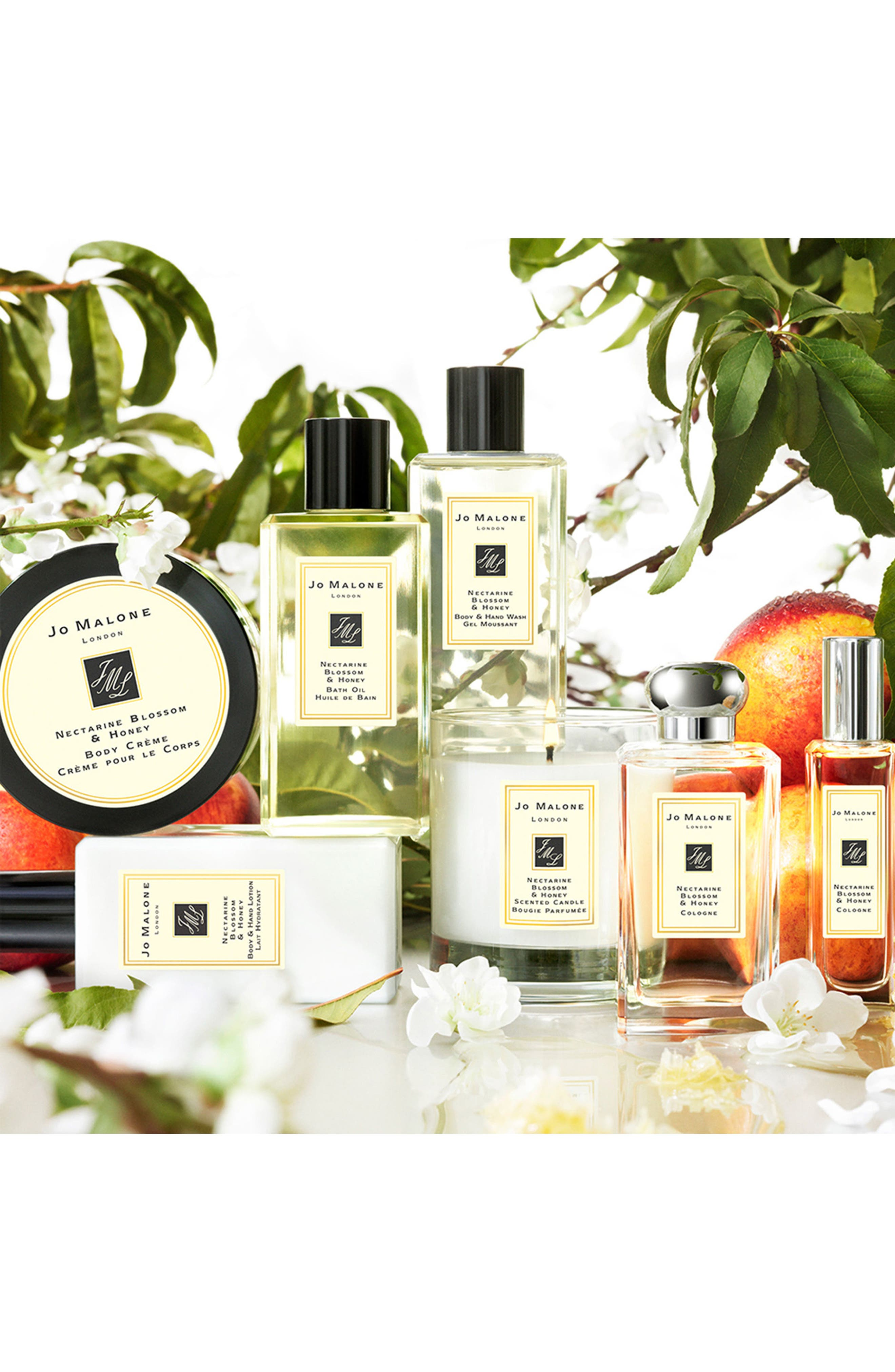 Alternate Image 3  - Jo Malone™ Nectarine Blossom & Honey Scented Home Candle