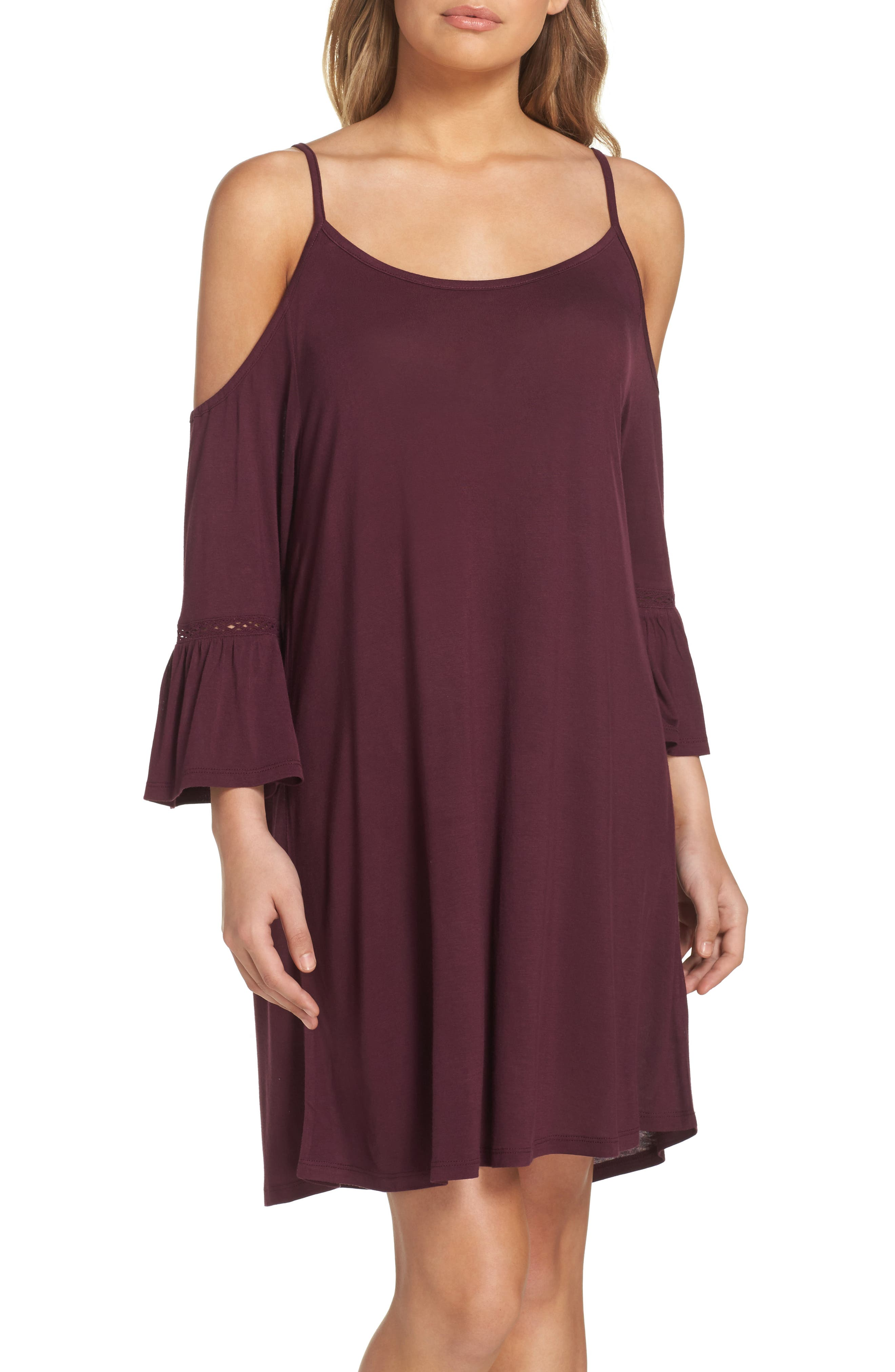 Alternate Image 1 Selected - Leith Cold Shoulder Cover-Up Dress