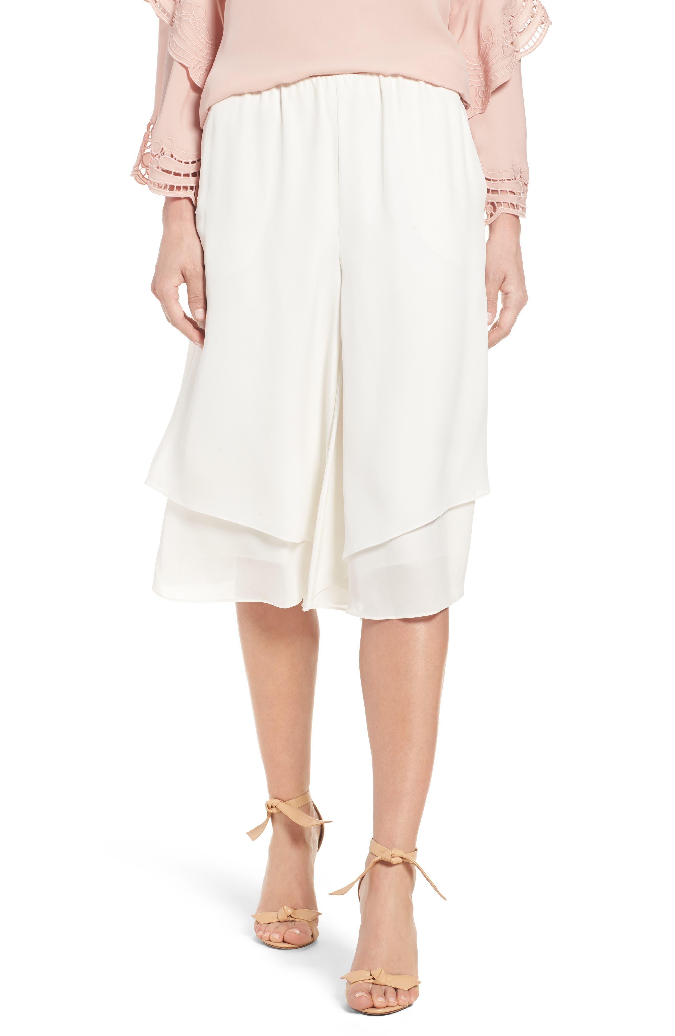 KOBI HALPERIN Shanaya Silk Culottes