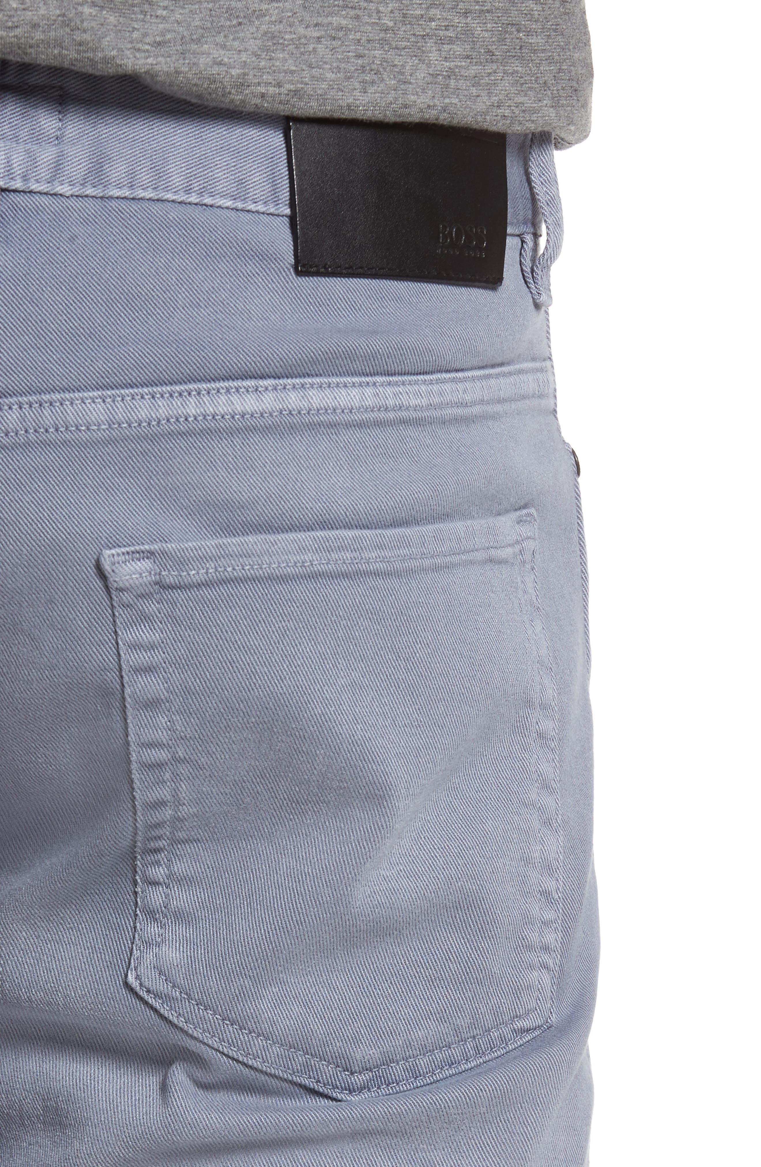 Delaware Slim Fit Jeans,                             Alternate thumbnail 4, color,                             Blue