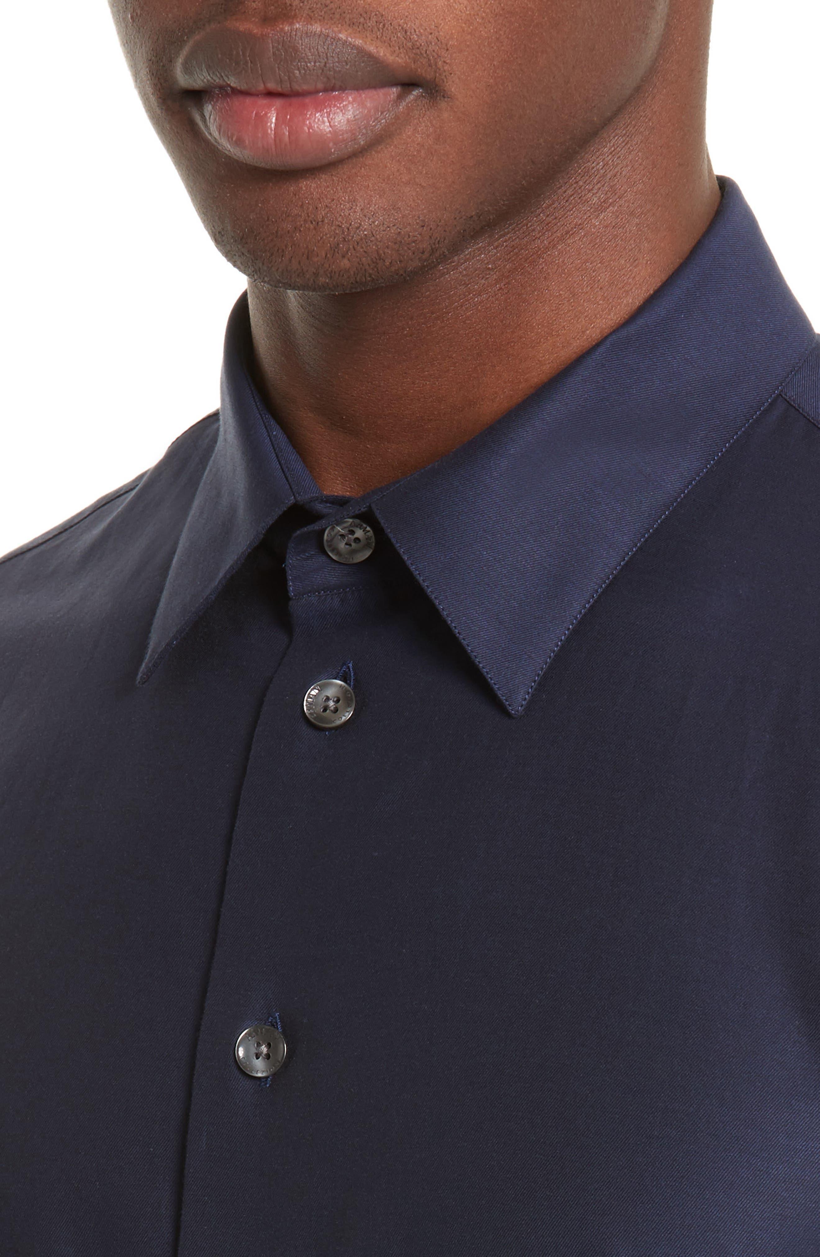 Alternate Image 4  - Armani Collezioni Sport Shirt