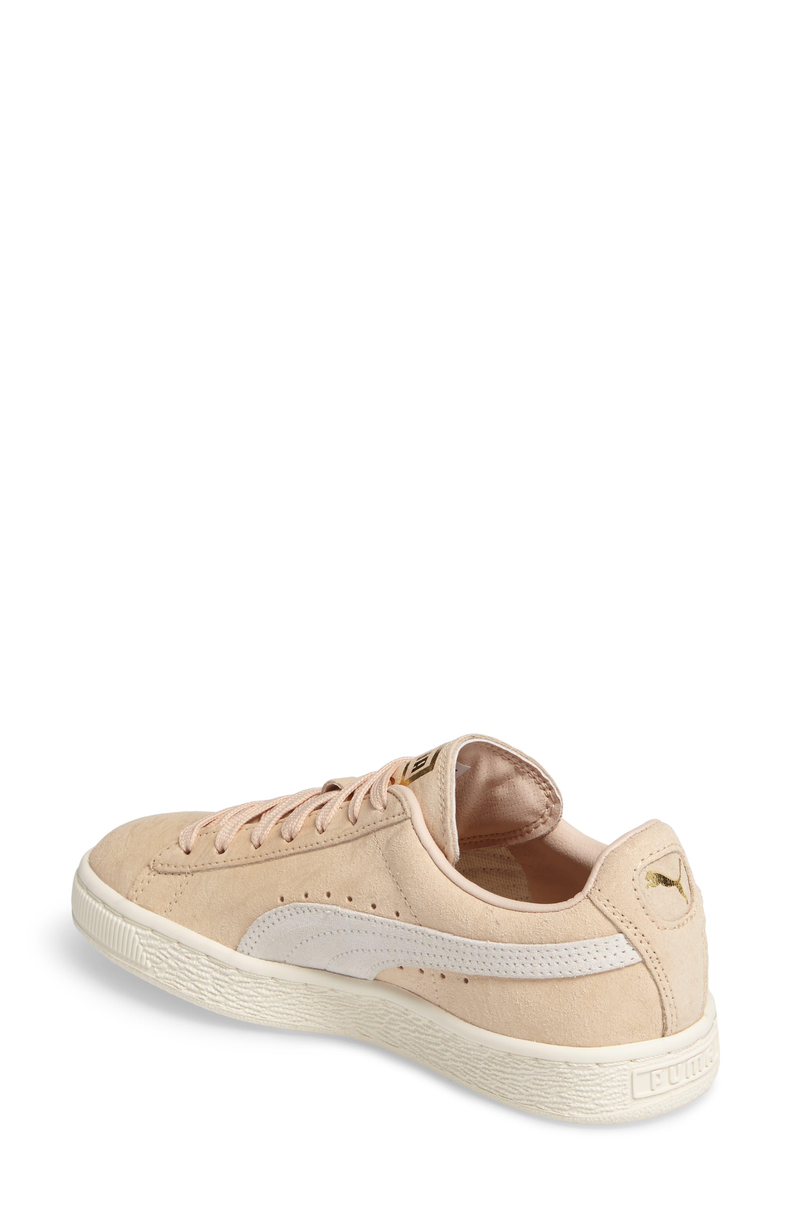 Alternate Image 2  - PUMA Suede Classic Shine Sneaker (Women)