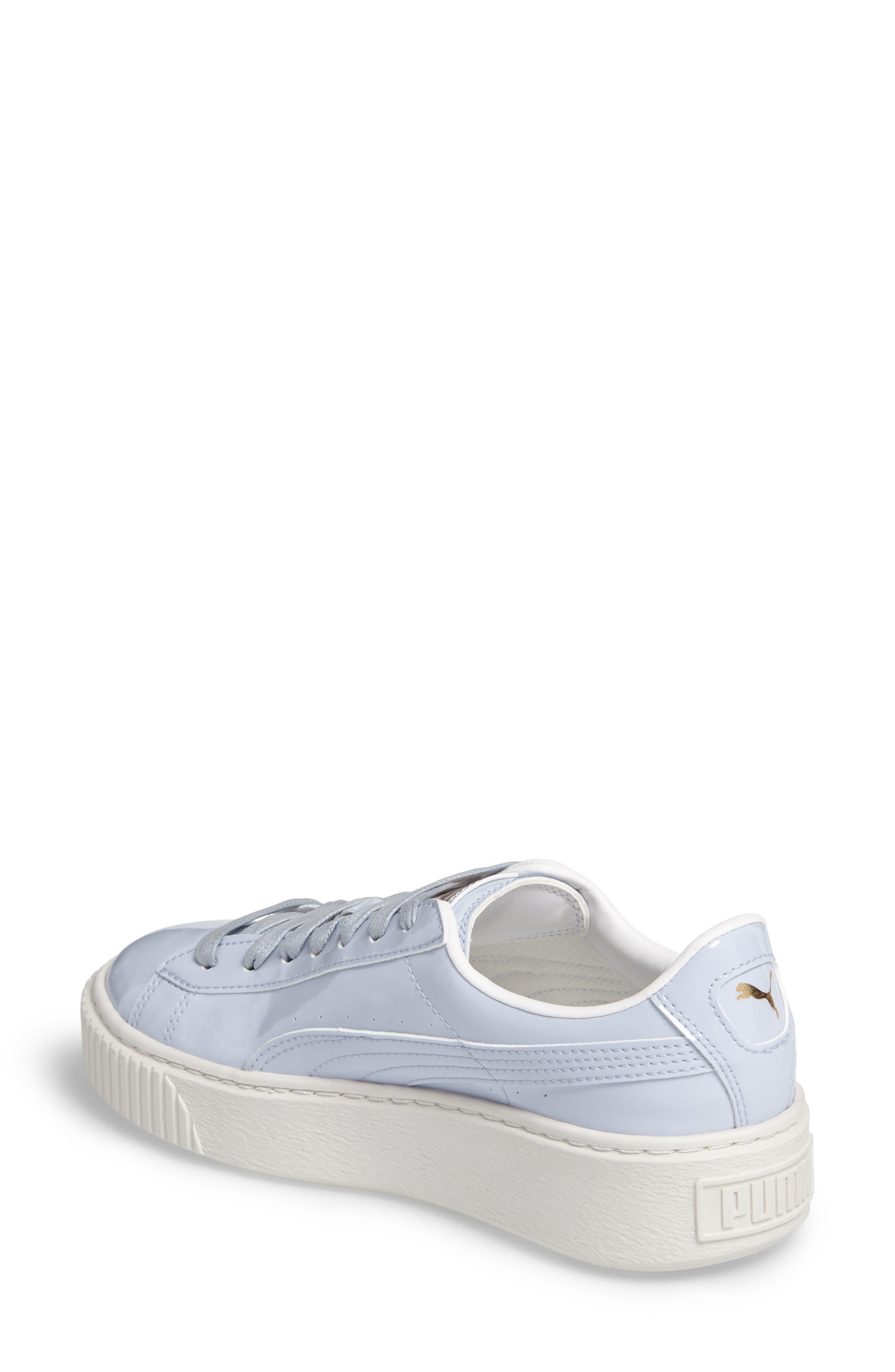Basket Platform Sneaker,                             Alternate thumbnail 2, color,                             Halogen Blue/ Halogen Blue