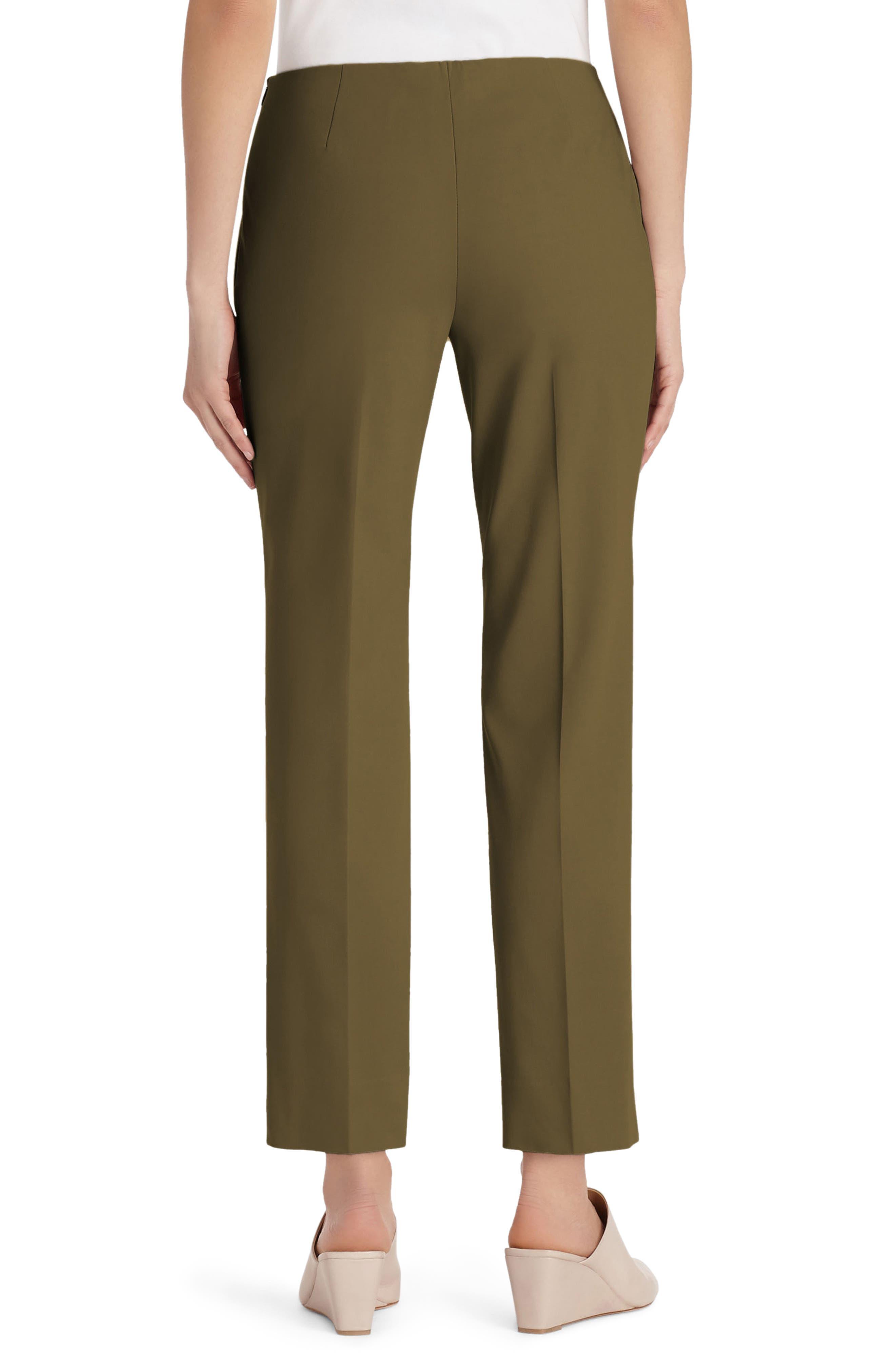 Alternate Image 2  - Lafayette 148 New York Lexington Crop Pants