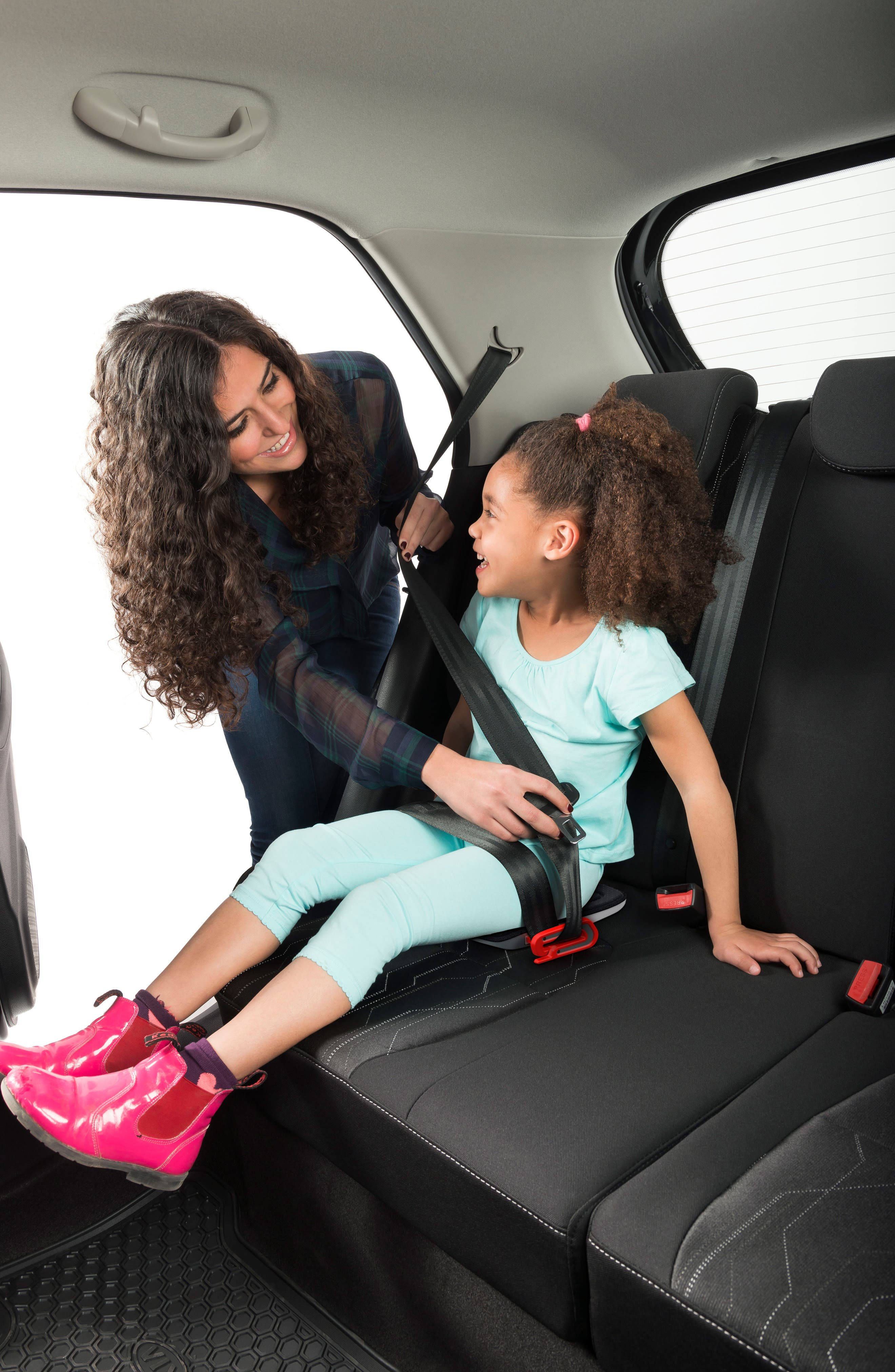 Grab-and-Go Car Booster Seat,                             Alternate thumbnail 4, color,