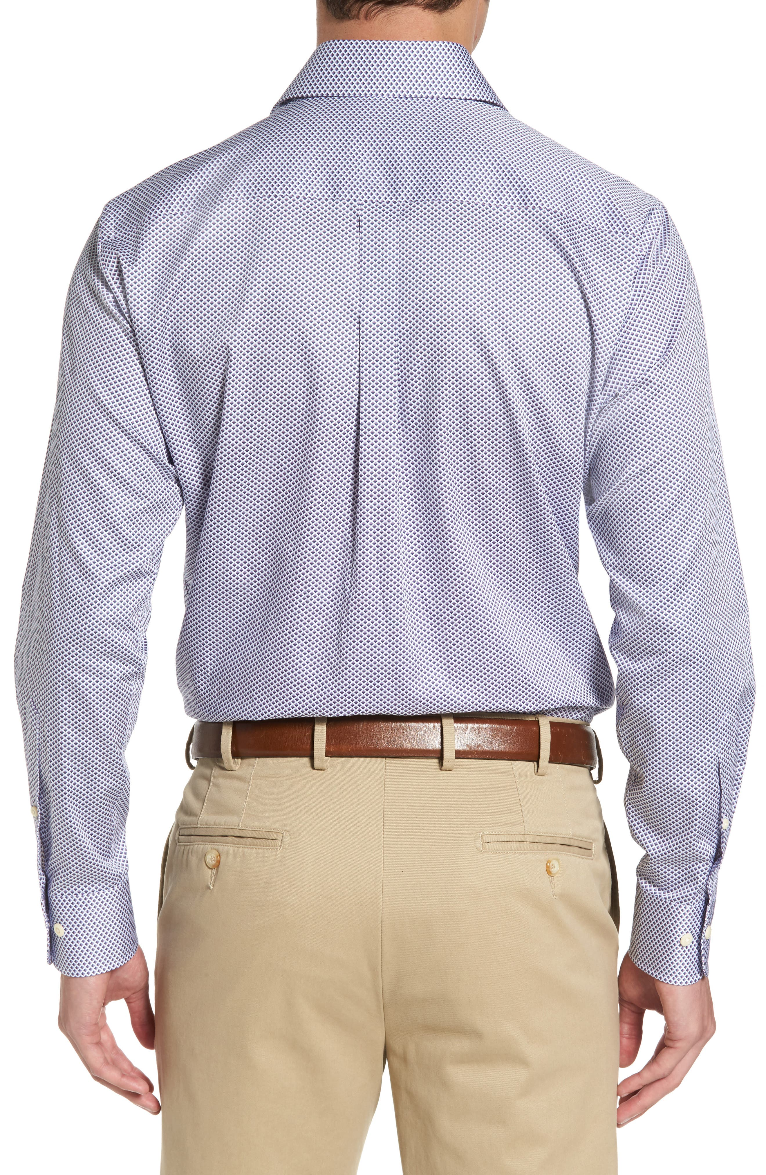 Alternate Image 2  - Peter Millar Geometric Horizon Sport Shirt