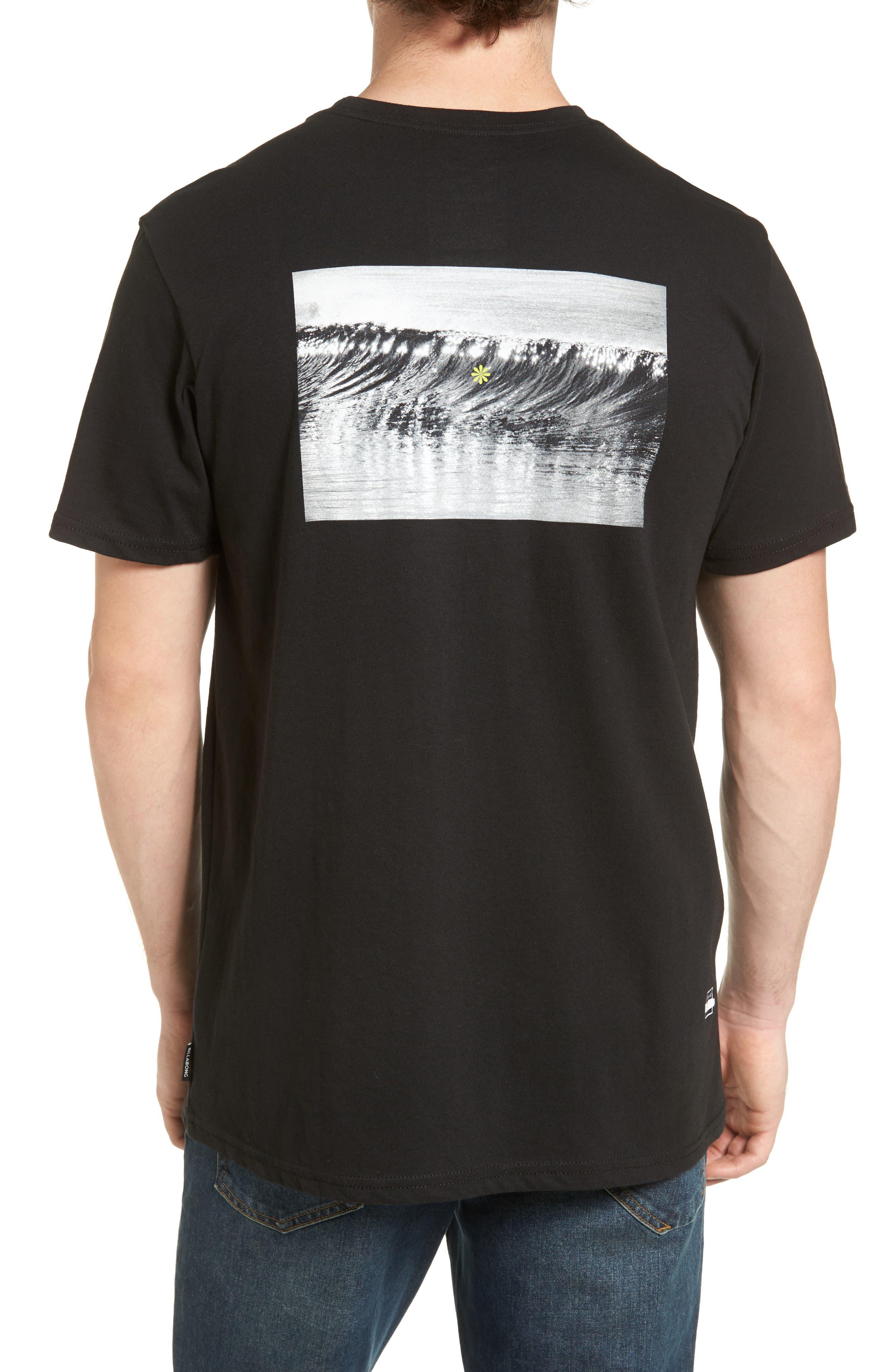 Offshore T-Shirt,                             Alternate thumbnail 2, color,                             Black