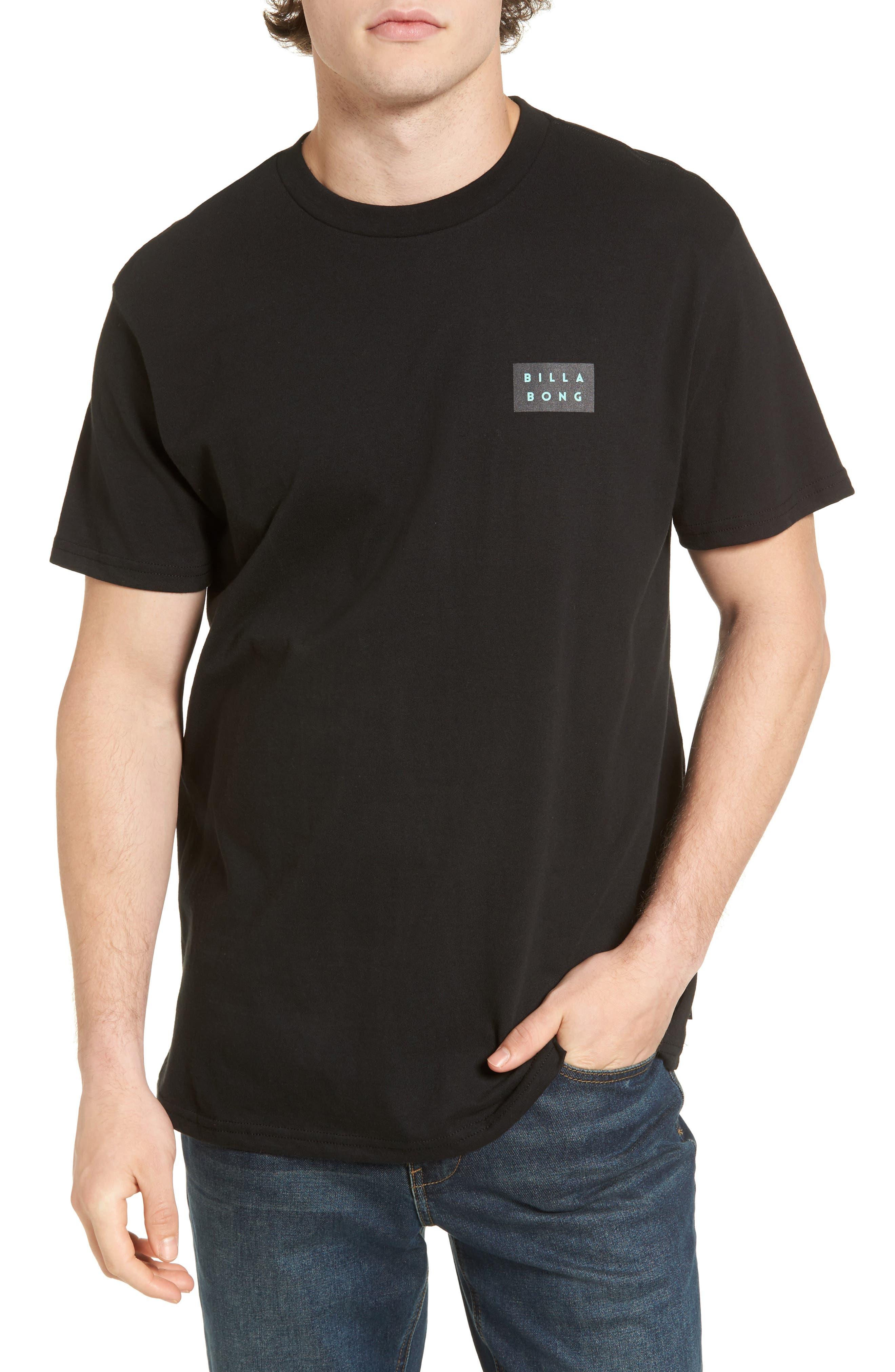Fill Die Cut T-Shirt,                         Main,                         color, Black
