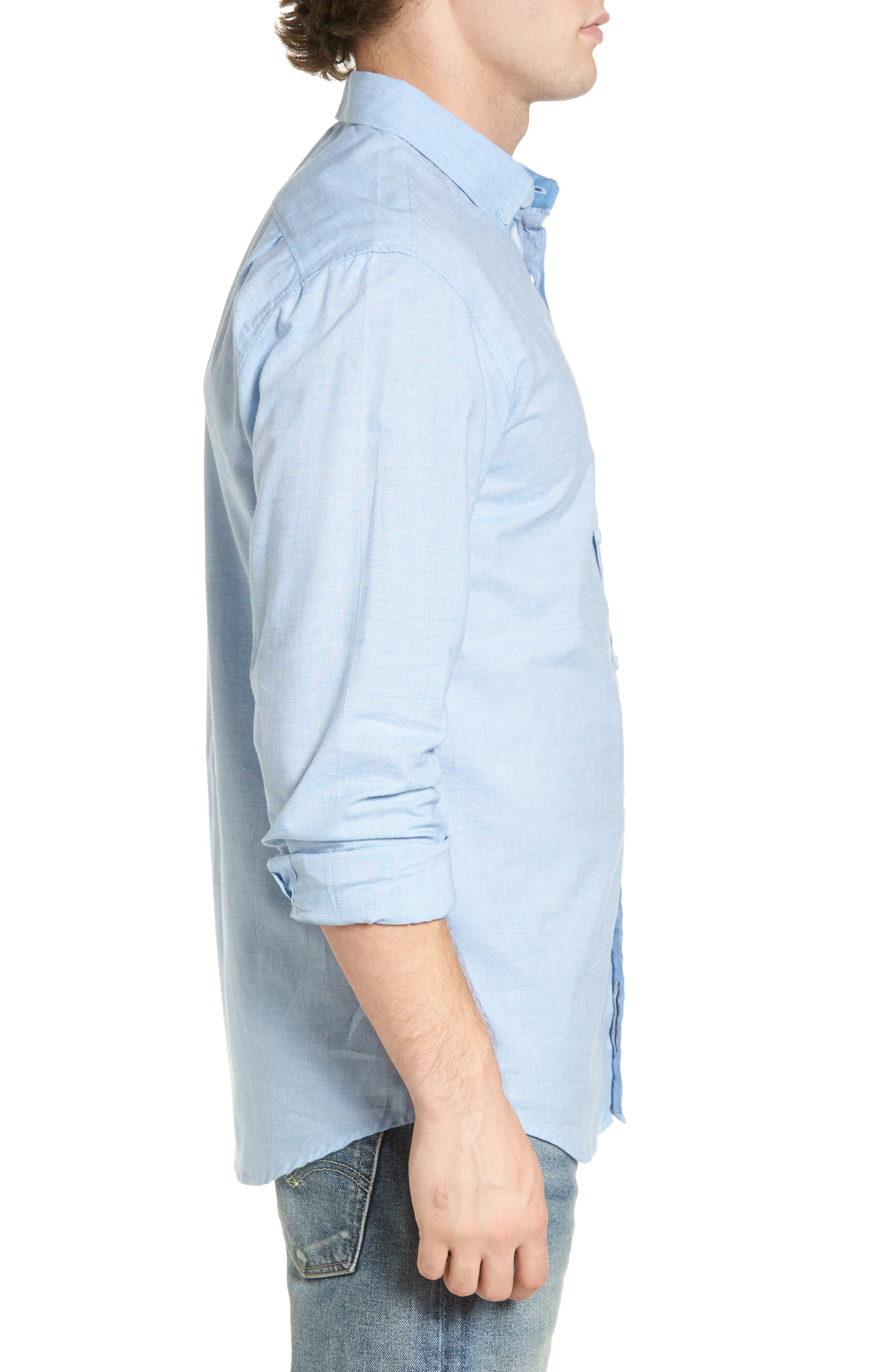 Alternate Image 3  - Billabong All Day Chambray Shirt