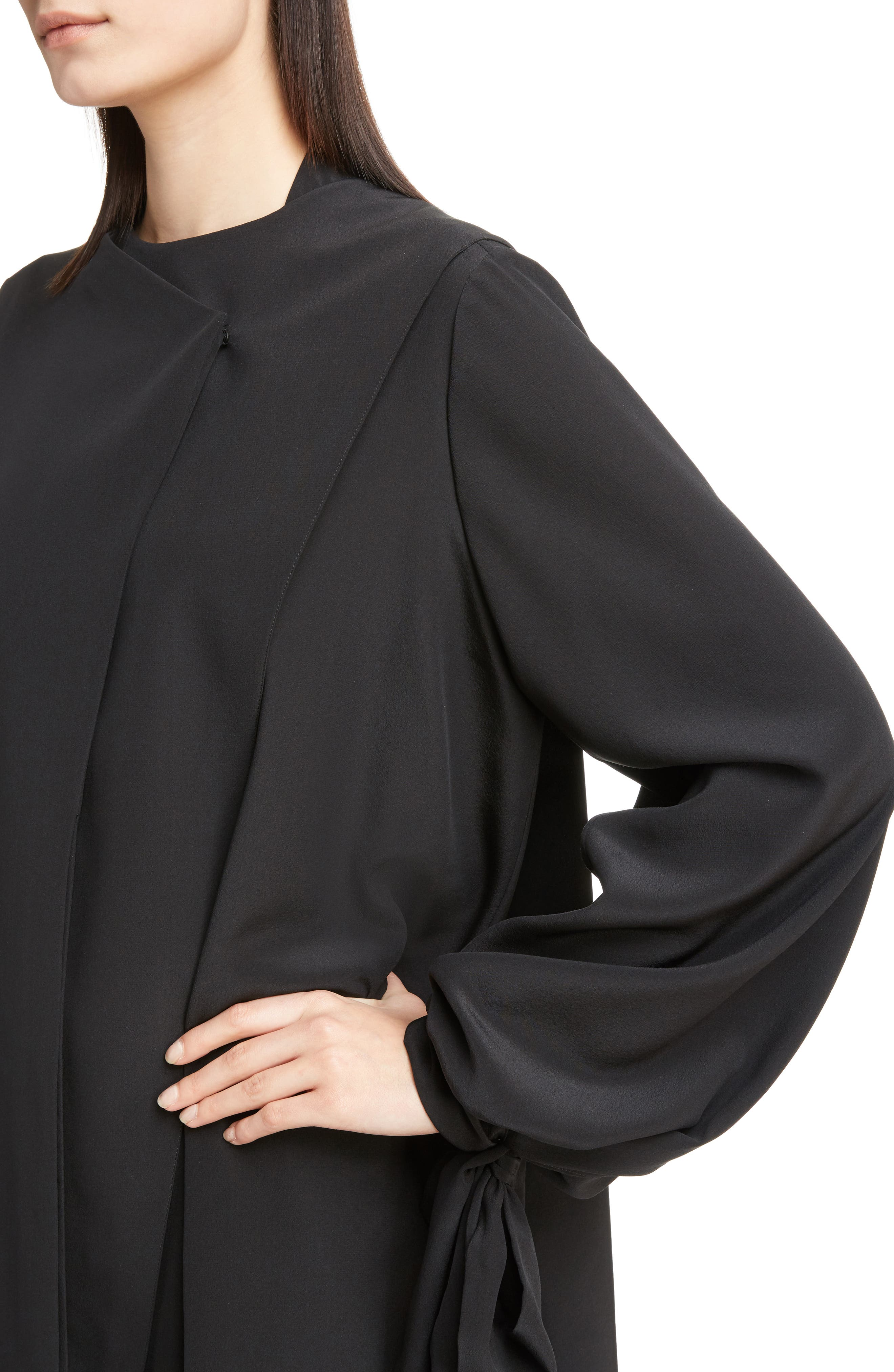 Alternate Image 4  - Givenchy Silk Drape Top