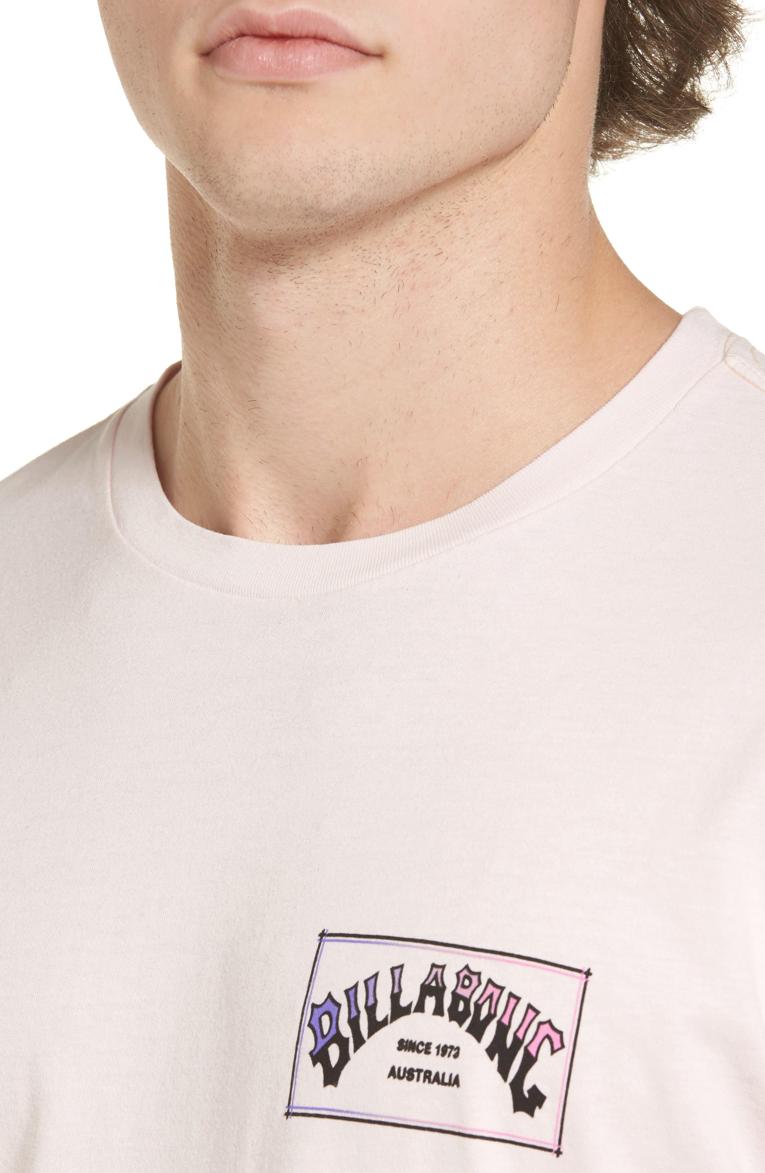 Alternate Image 4  - Billabong Boxed Arch T-Shirt