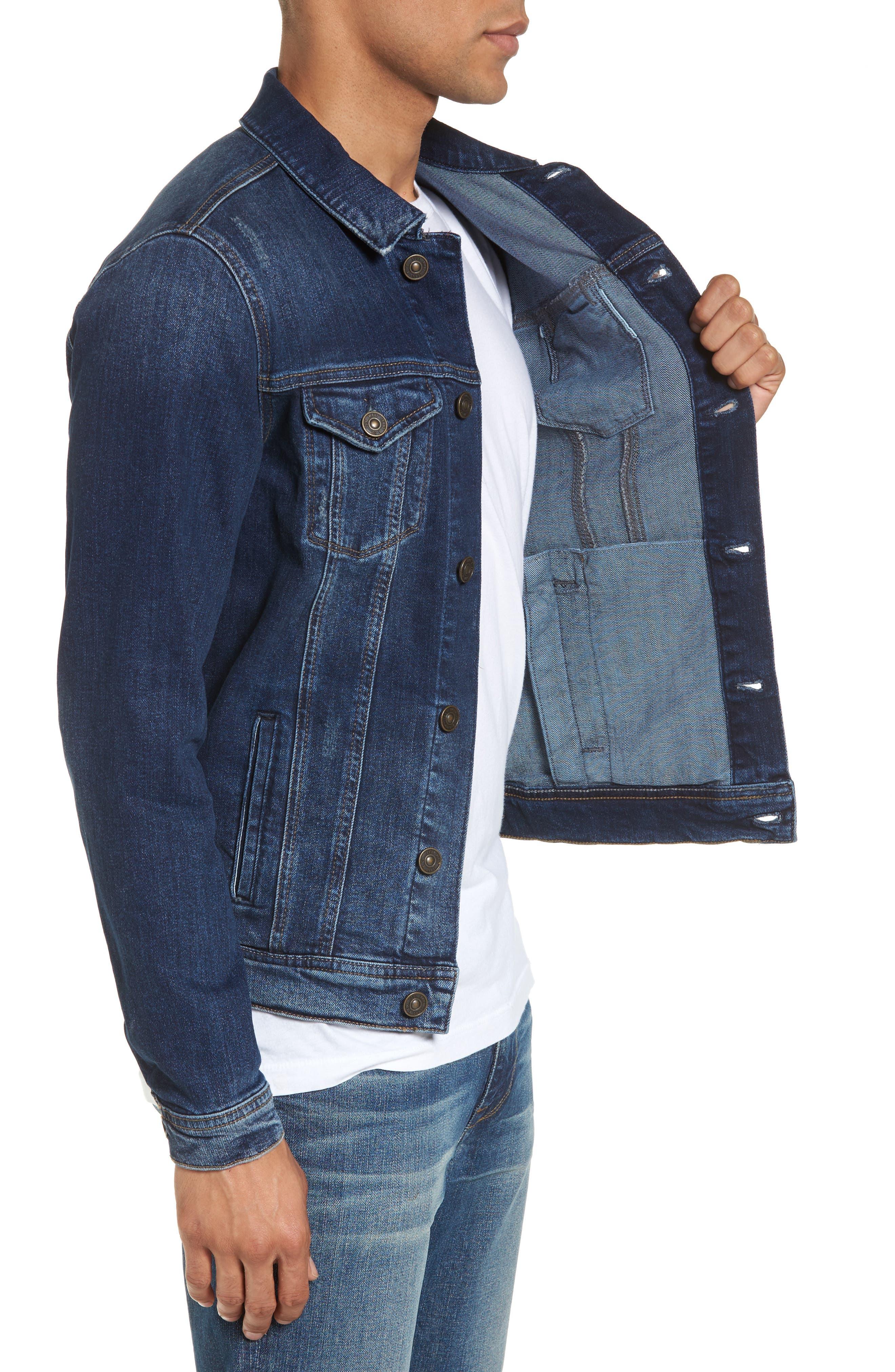 Alternate Image 3  - Mavi Jeans Frank Denim Jacket