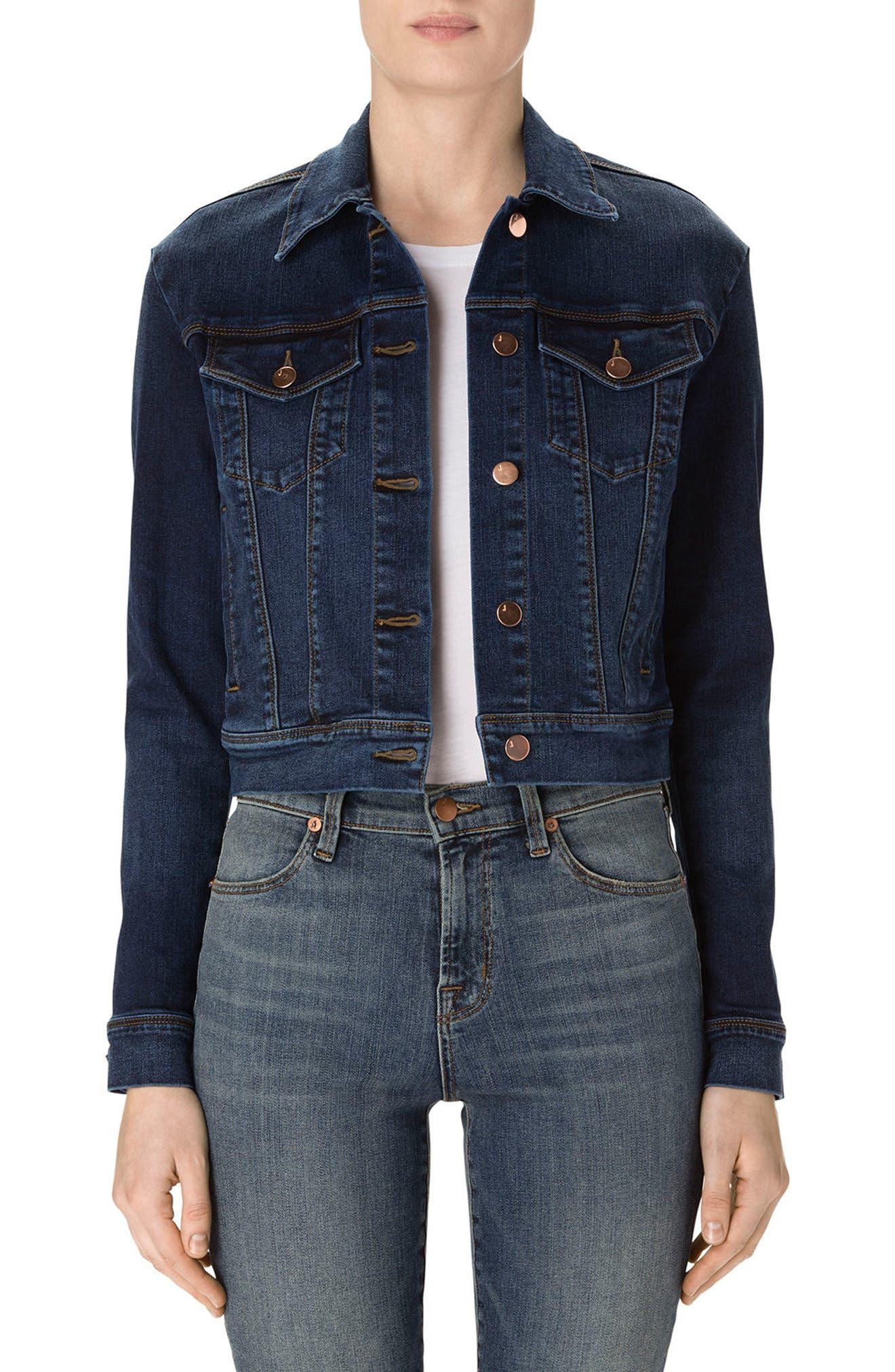 Alternate Image 4  - J Brand Harlow Shrunken Denim Jacket