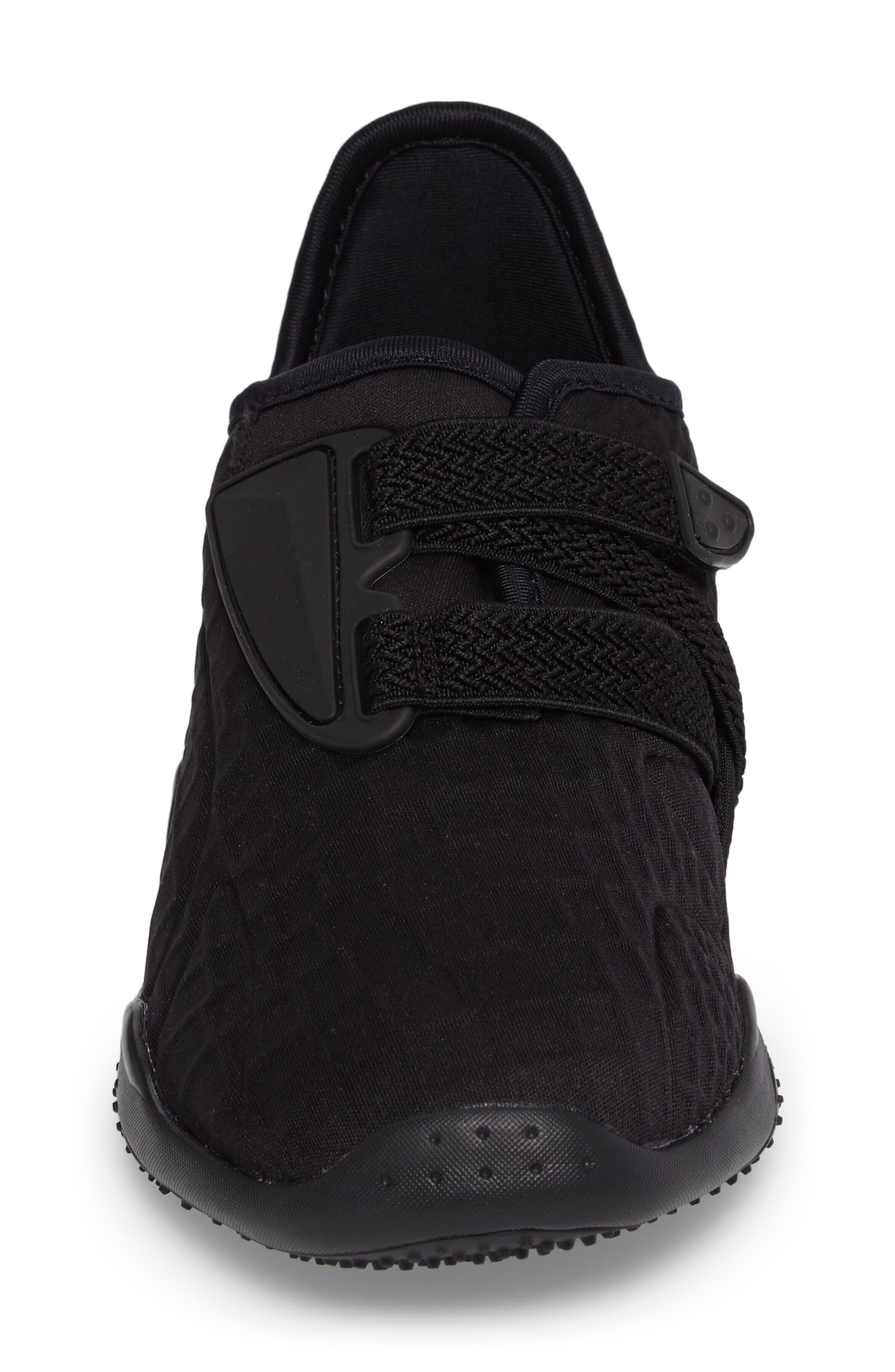 Mostro Fashion Sneaker,                             Alternate thumbnail 4, color,                             Puma Black/ Puma Black
