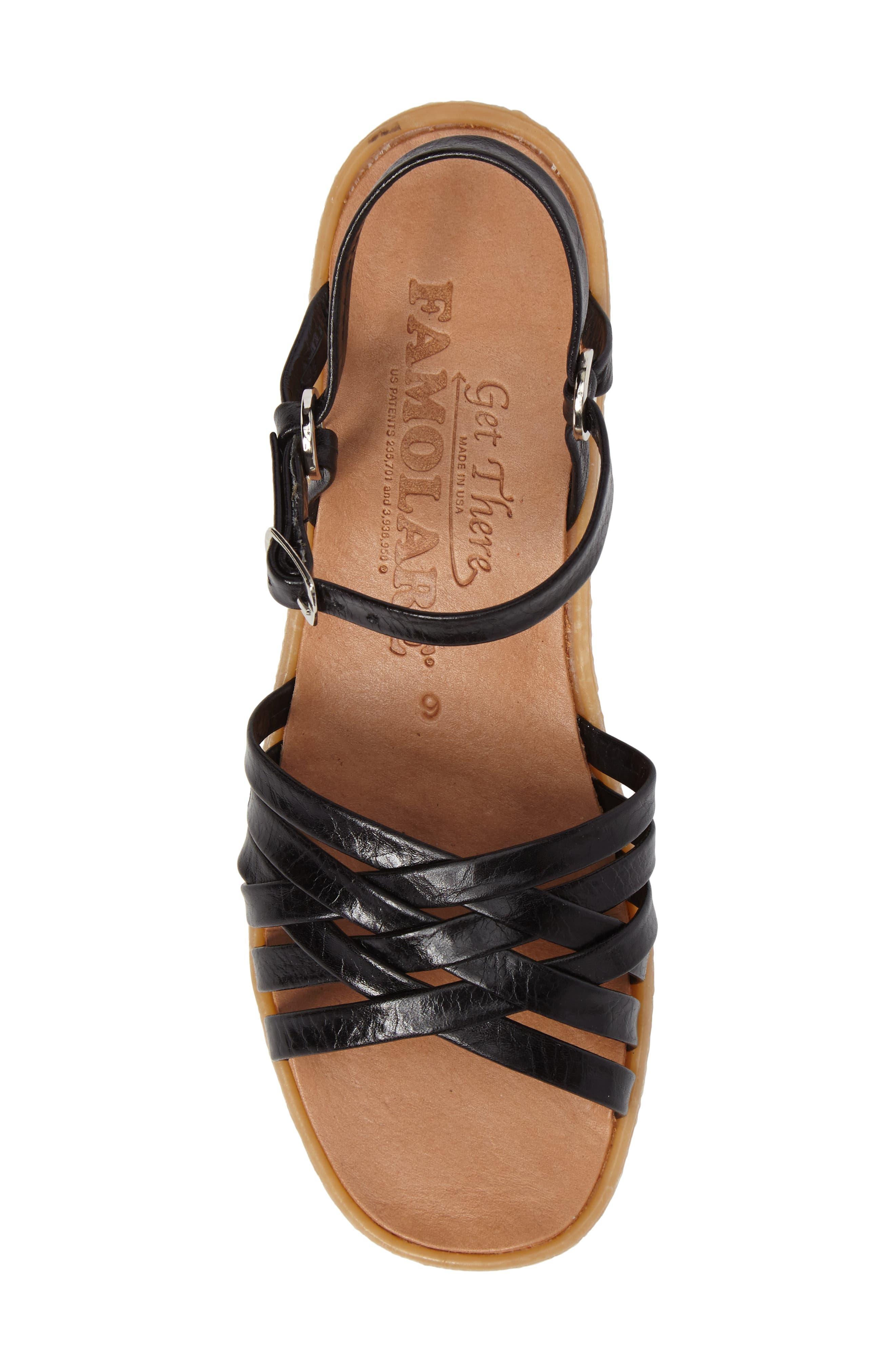 Alternate Image 5  - Famolare Strappy Camper Sandal (Women)
