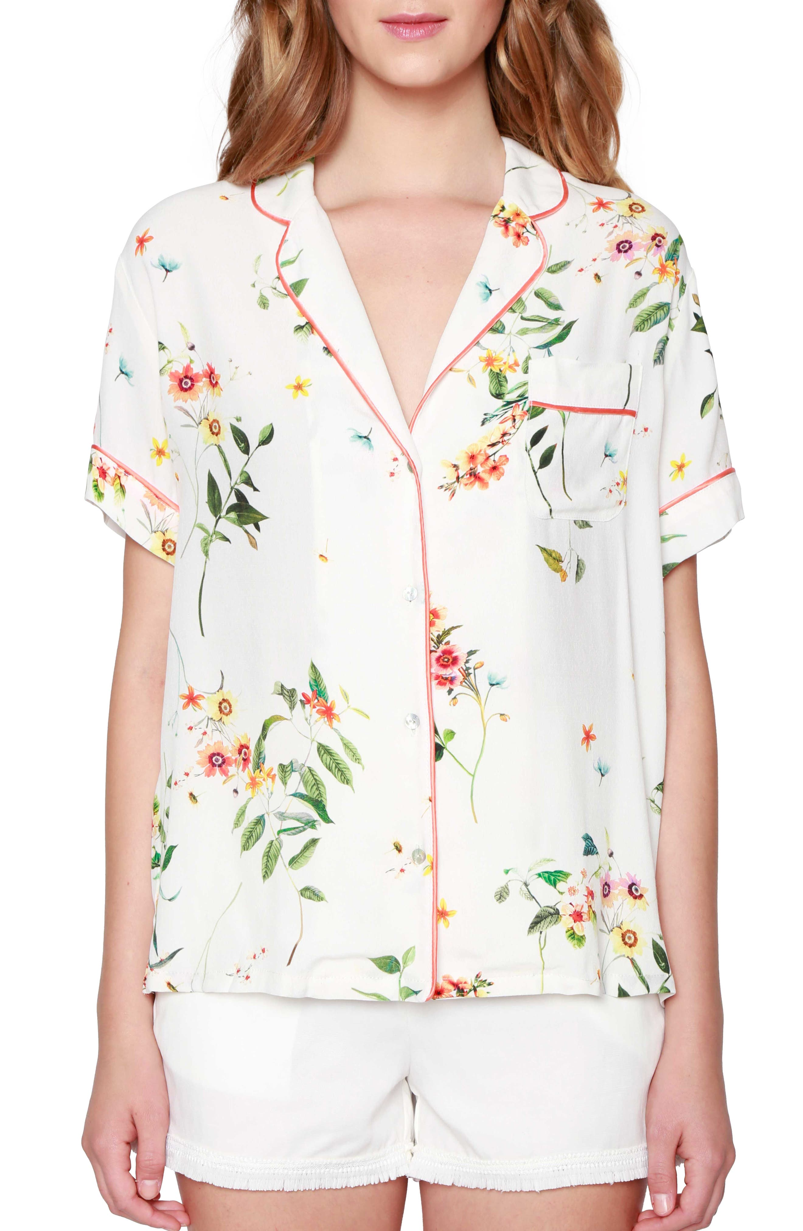 WILLOW & CLAY Floral Print Shirt