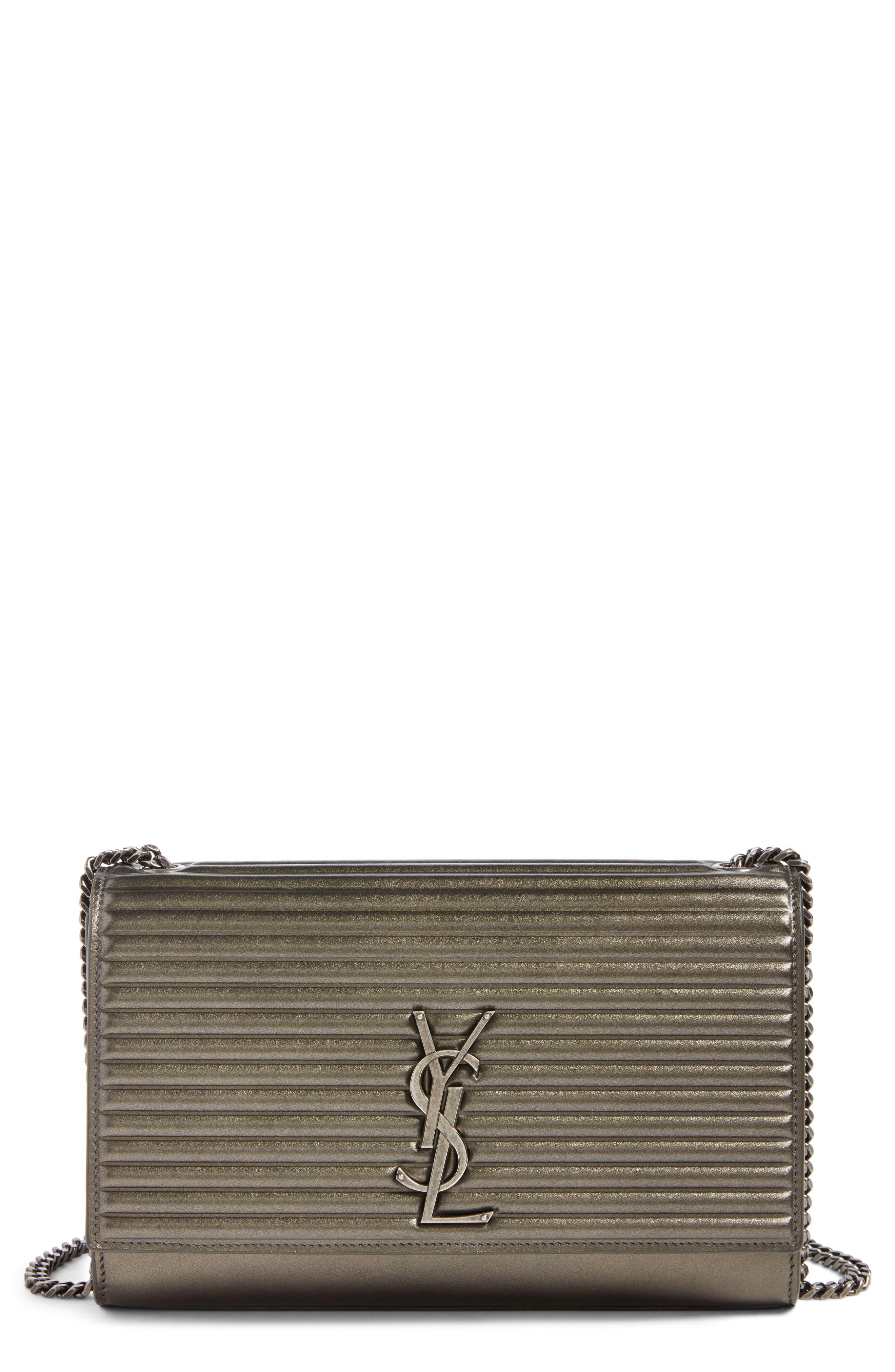 Saint Laurent Medium Kate Matelassé Leather Shoulder Bag