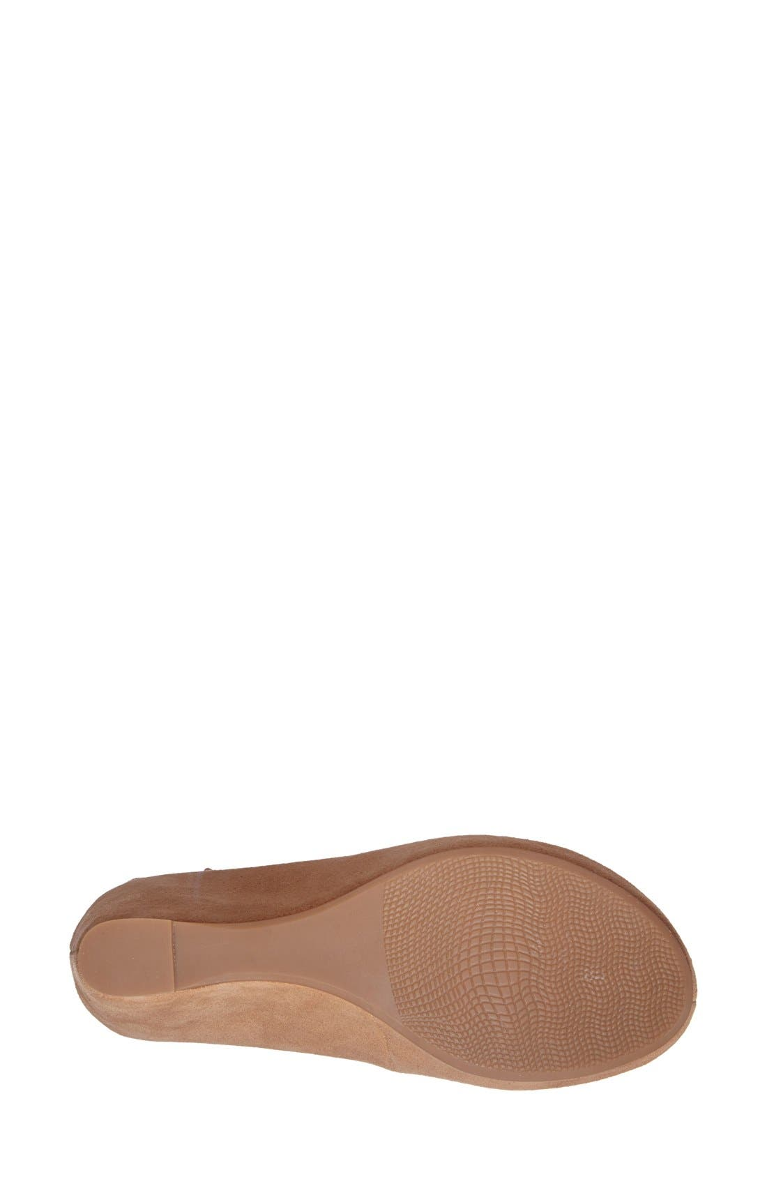Alternate Image 4  - Johnston & Murphy 'Tricia' Ankle Strap Sandal