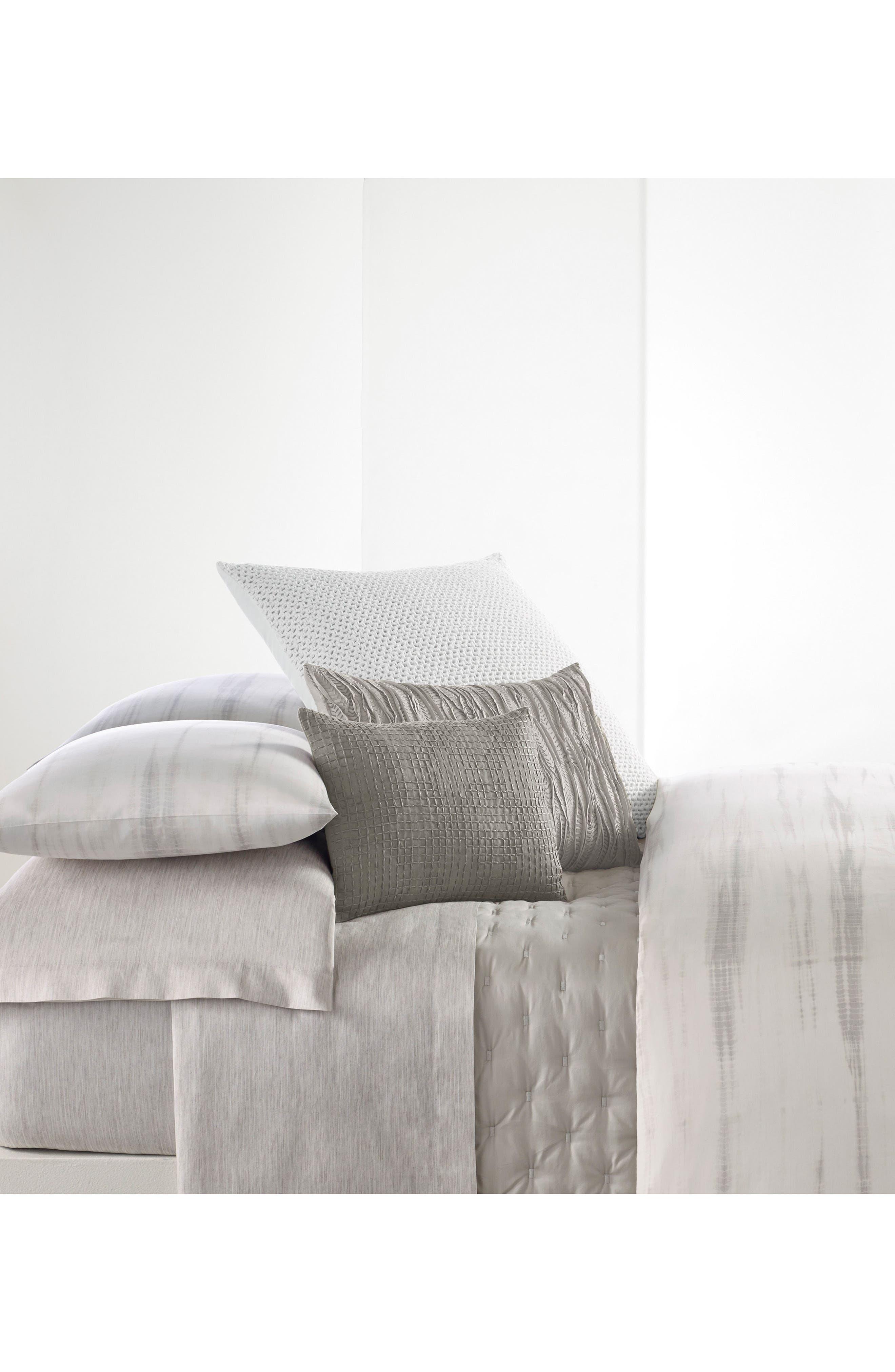 Marble Shibori 300 Thread Count Pillowcases,                             Alternate thumbnail 2, color,                             Lt/ Gray