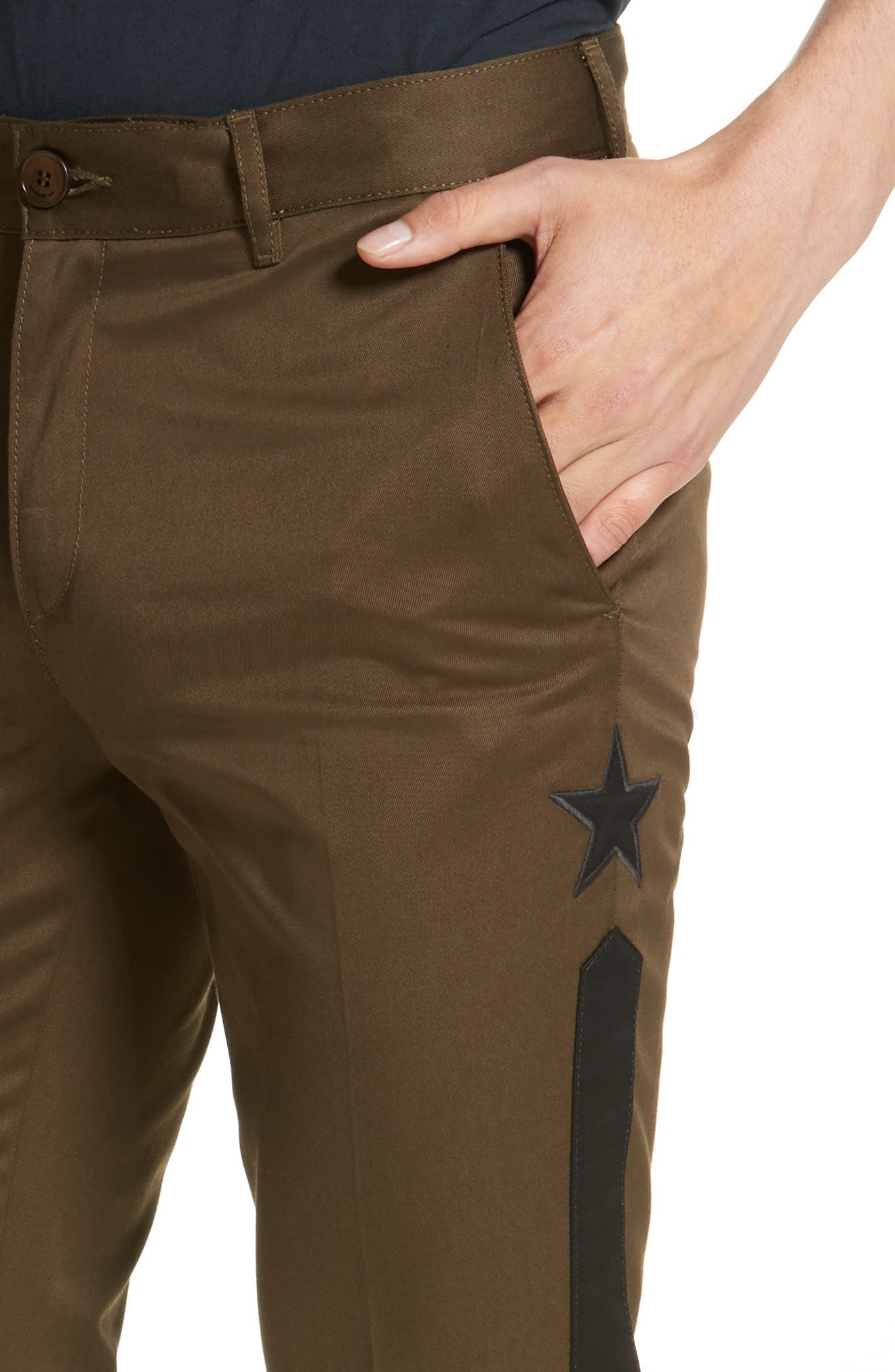 Alternate Image 4  - Givenchy Tapered Leg Chinos
