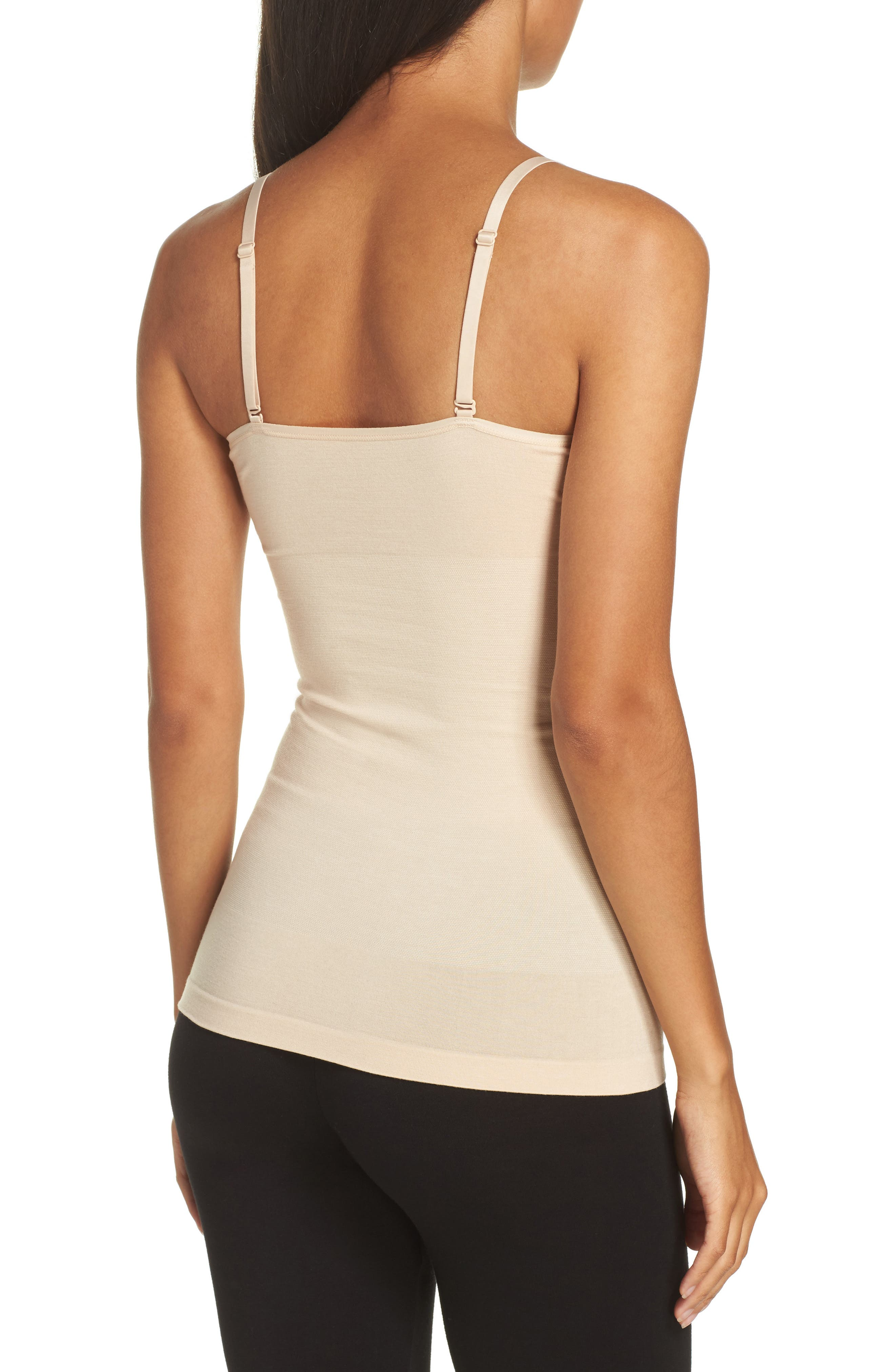 Seamlessly Shaped Convertible Camisole,                             Alternate thumbnail 2, color,                             Frappe