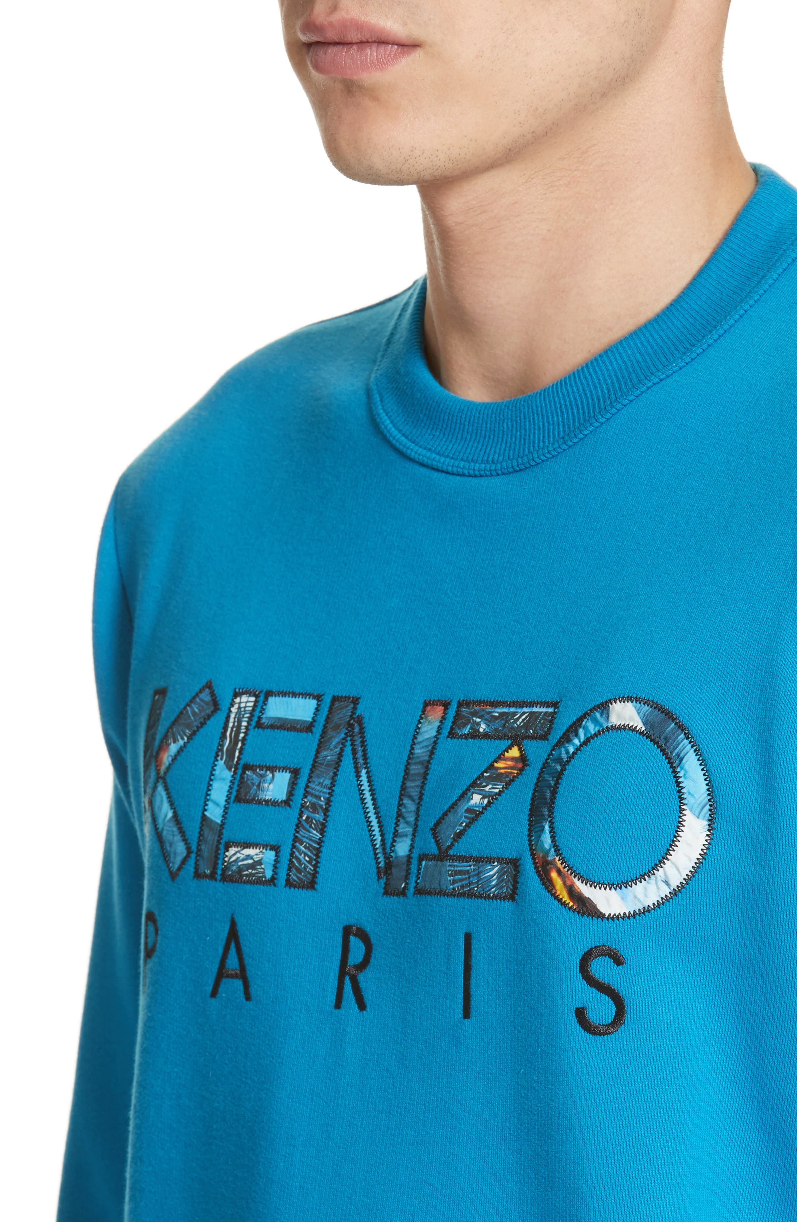 Alternate Image 4  - KENZO Cotton Pullover