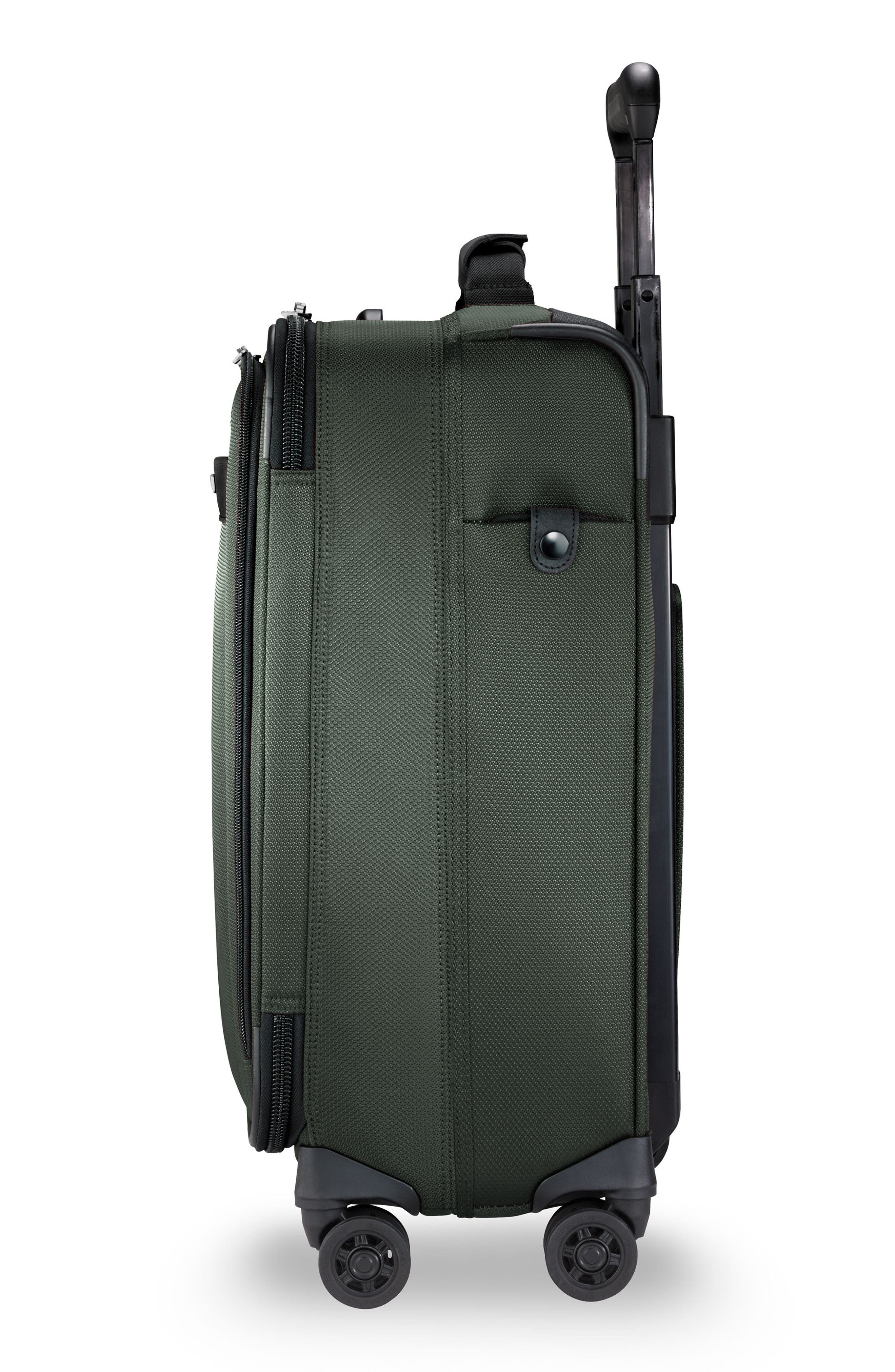 Transcend VX Wide Expandable 21-Inch Spinner Suitcase,                             Alternate thumbnail 6, color,                             Rainforest Green