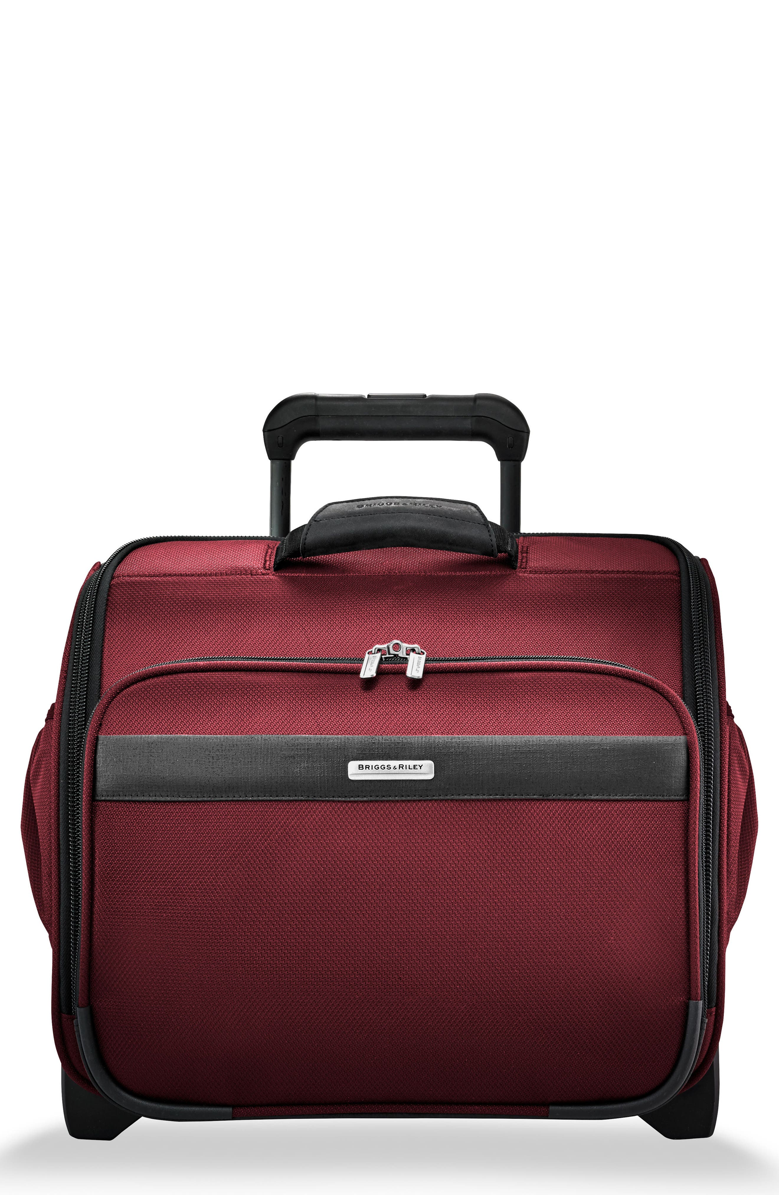 Transcend 400 Wheeled Cabin Bag,                             Main thumbnail 1, color,                             Merlot Red