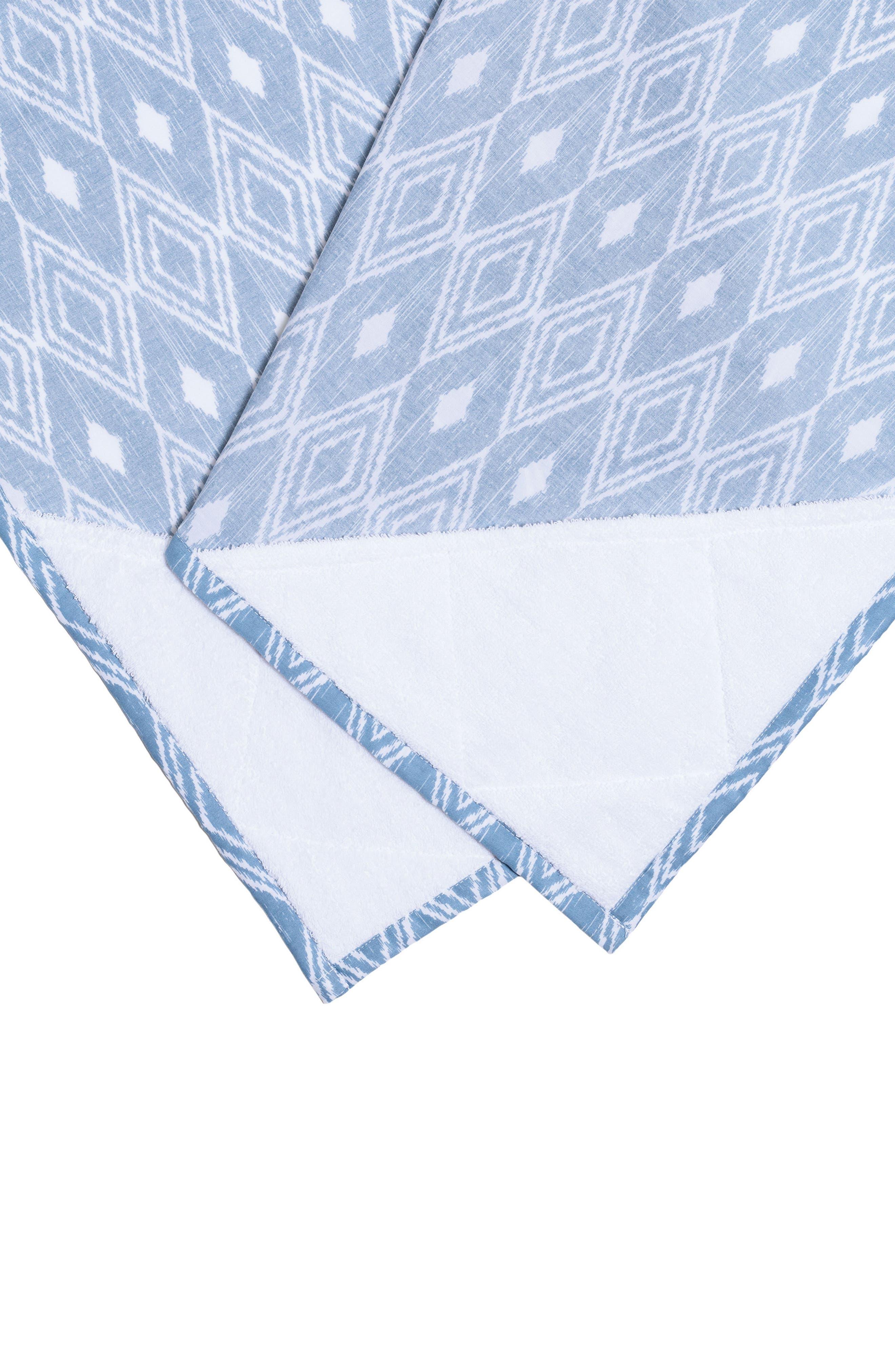 Alternate Image 4  - Bébé au Lait Nursing Cover & Burp Cloth Set