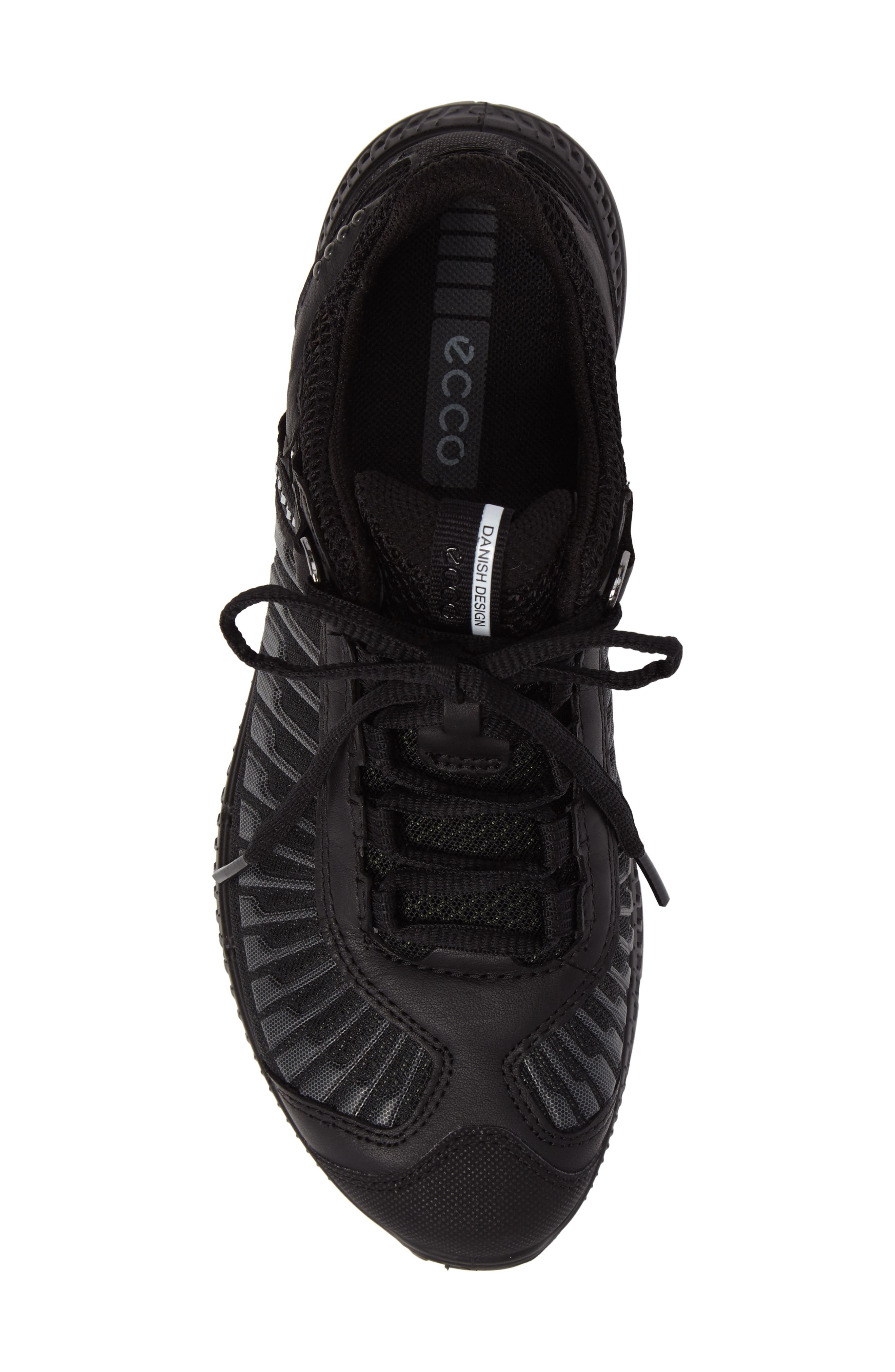 Intrinsic TR Running Shoe,                             Alternate thumbnail 5, color,                             Black Leather