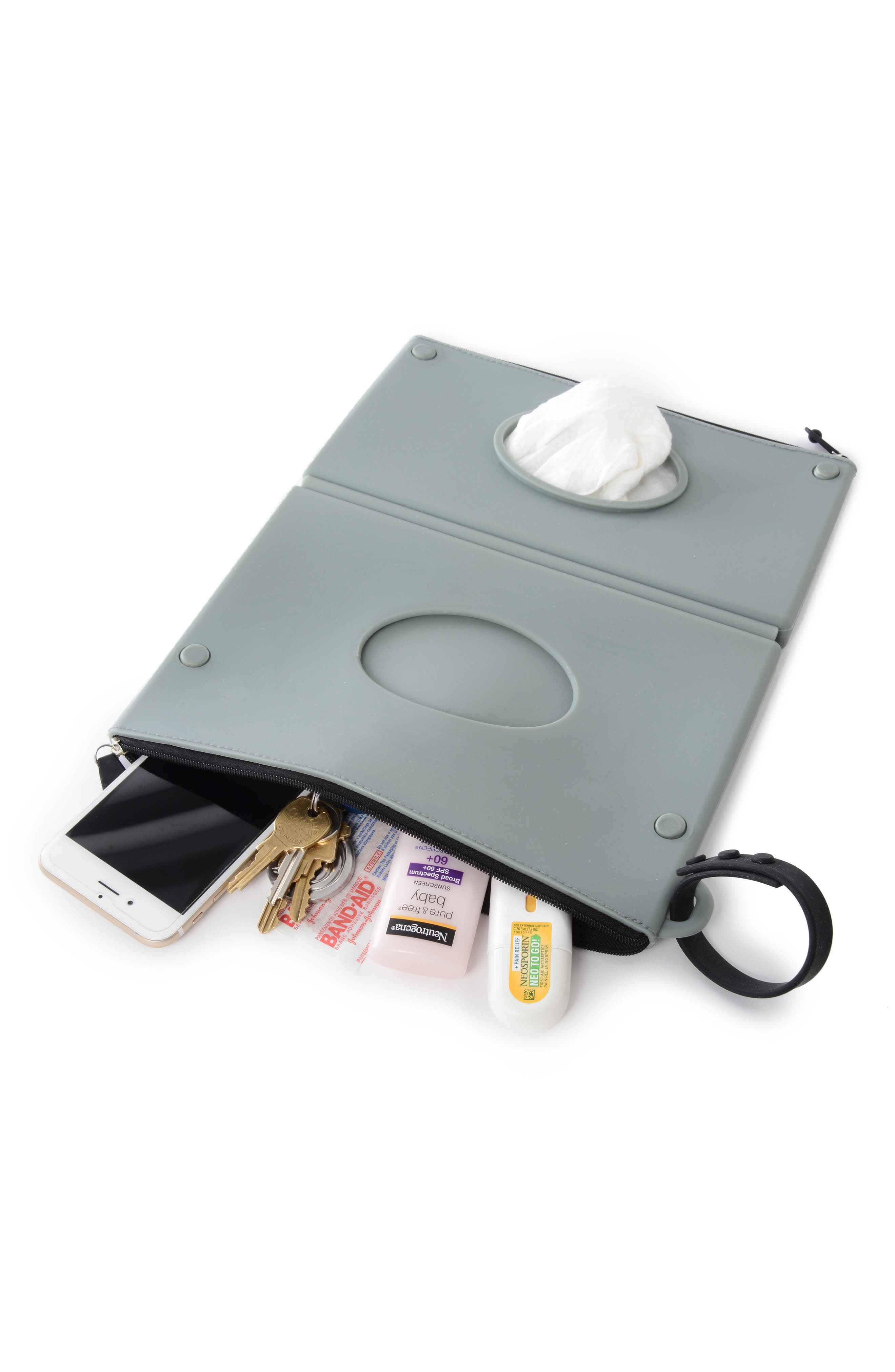 Silicone Wipes Case,                             Alternate thumbnail 2, color,                             Grey