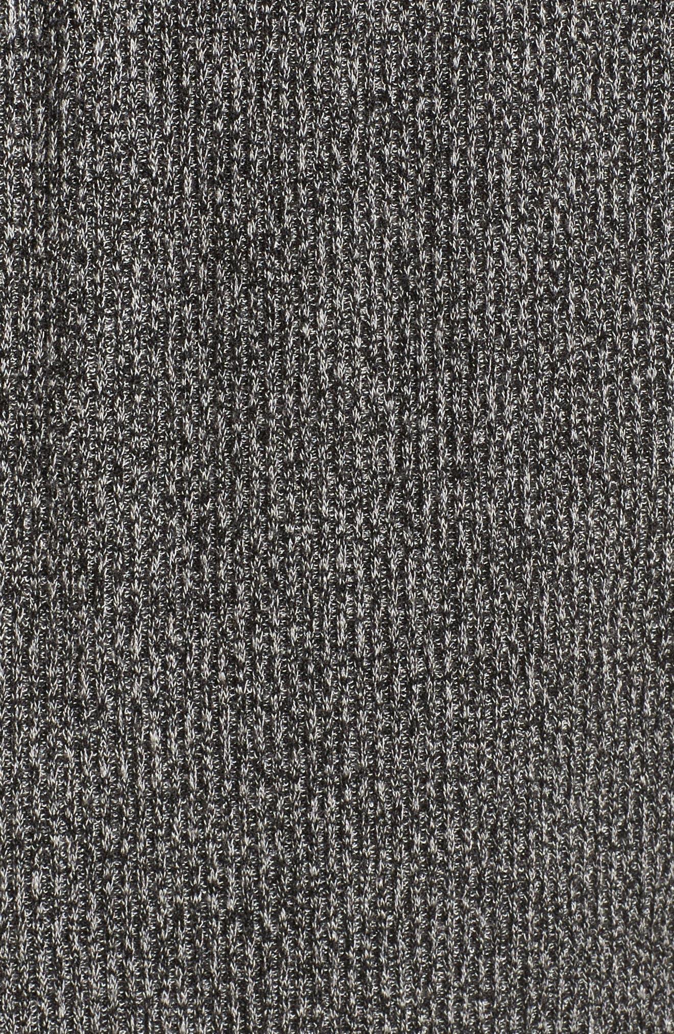 Alternate Image 5  - Zella Enlighten Me Ribbed Cardigan (Plus Size)