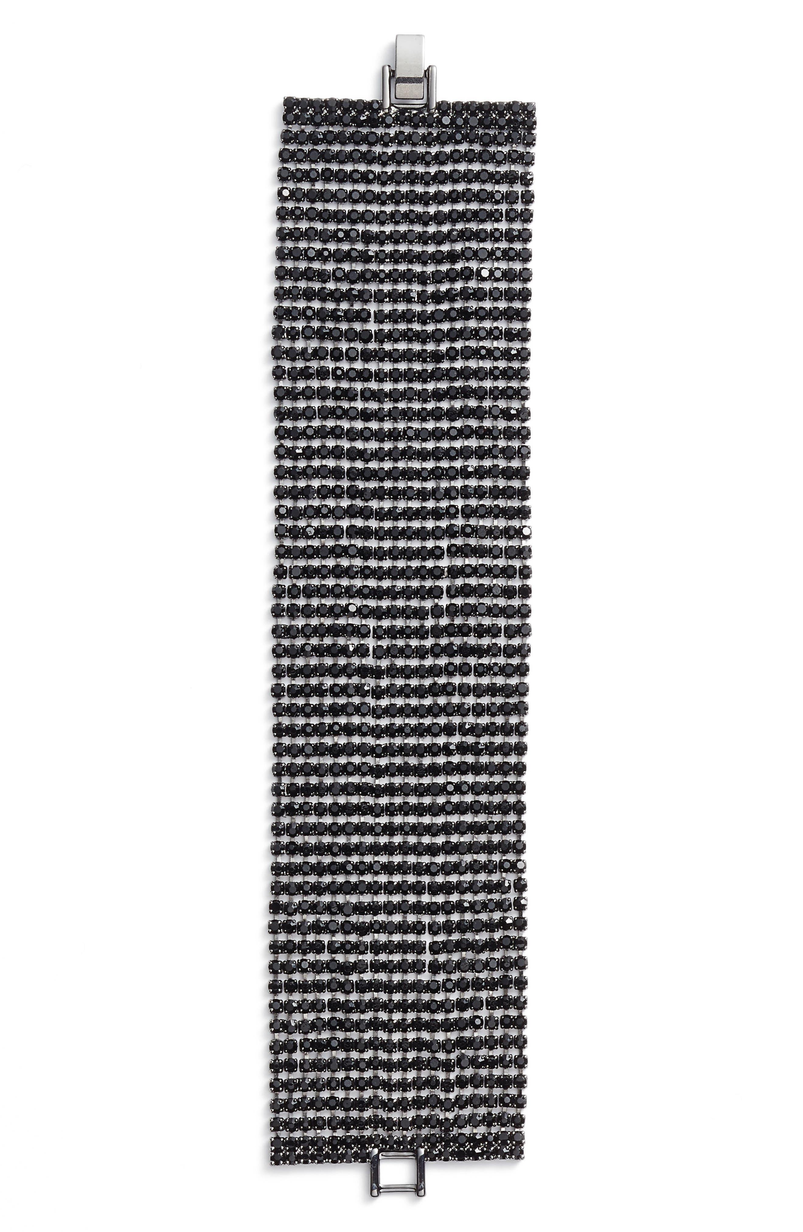 CRISTABELLE Crystal Multirow Bracelet