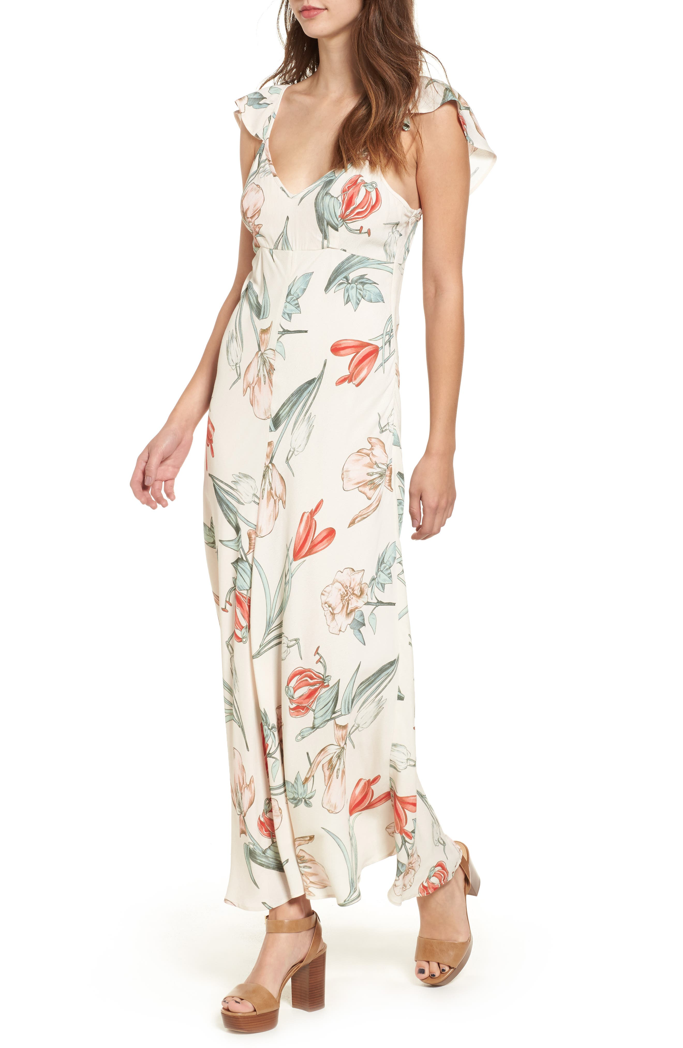 ASTR THE LABEL Fleur Maxi Dress