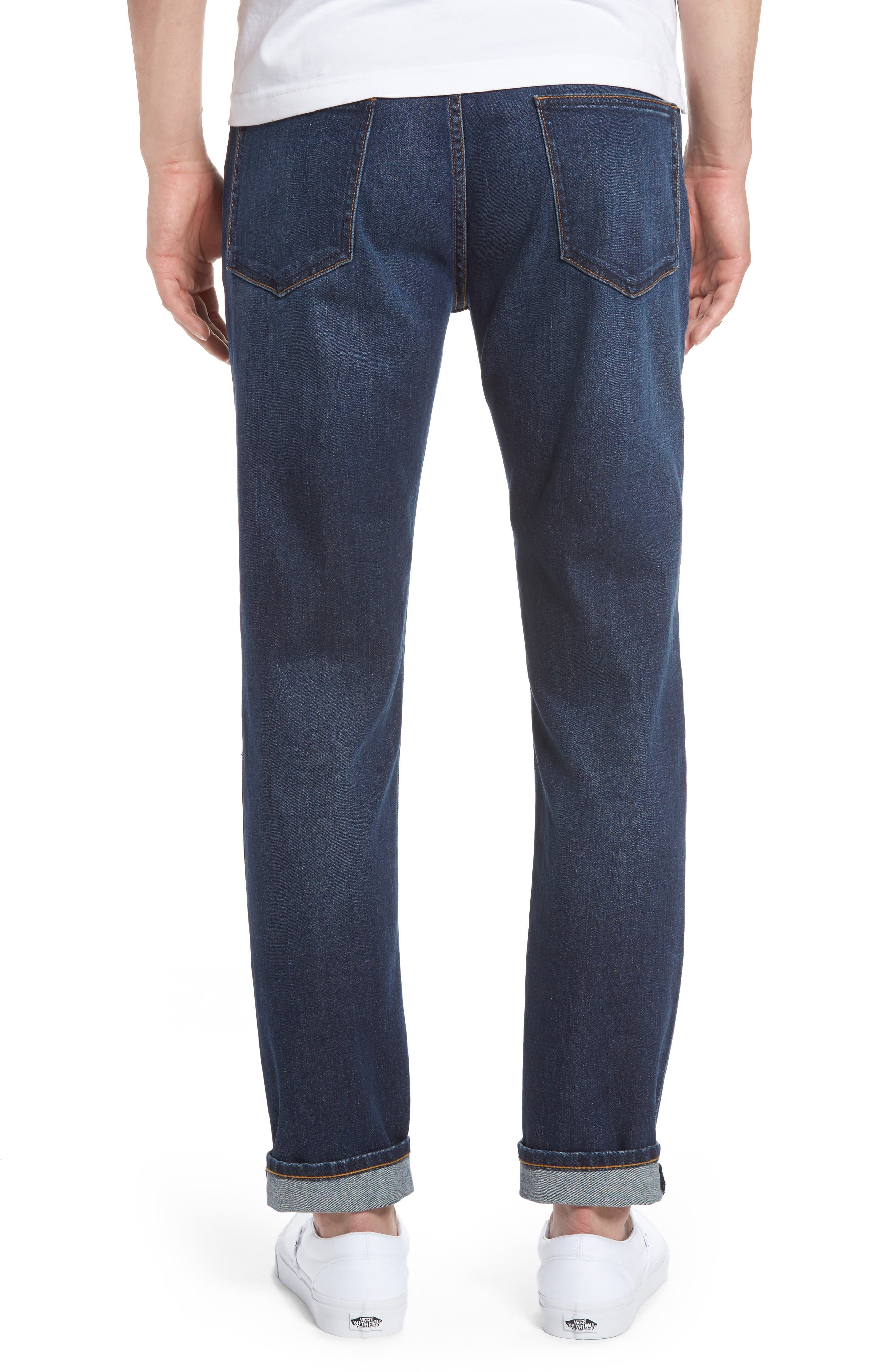Stretch Skinny Fit Jeans,                             Alternate thumbnail 2, color,                             Indigo