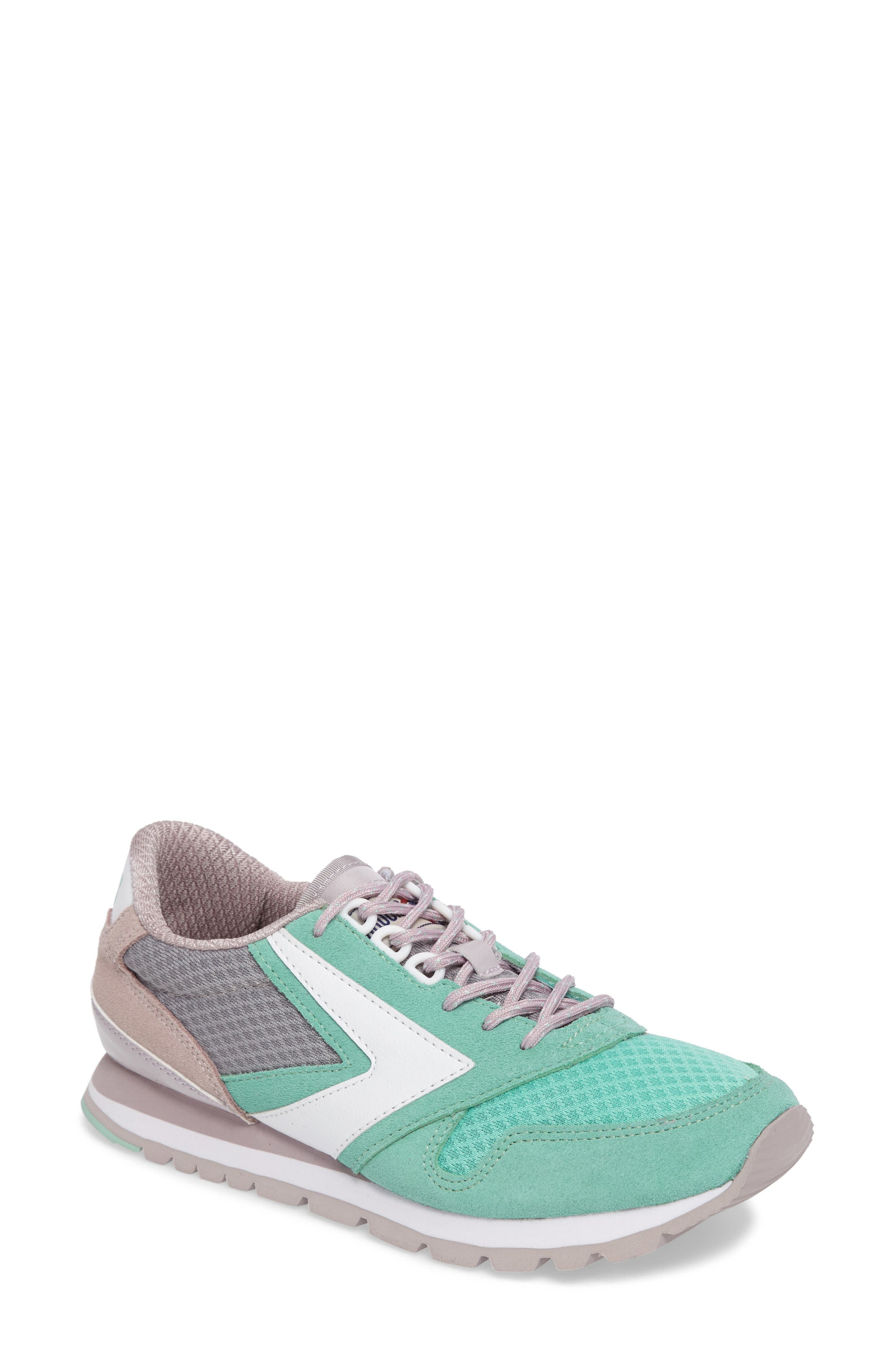 'Chariot' Sneaker,                         Main,                         color, Cloud Grey/ Cabbage
