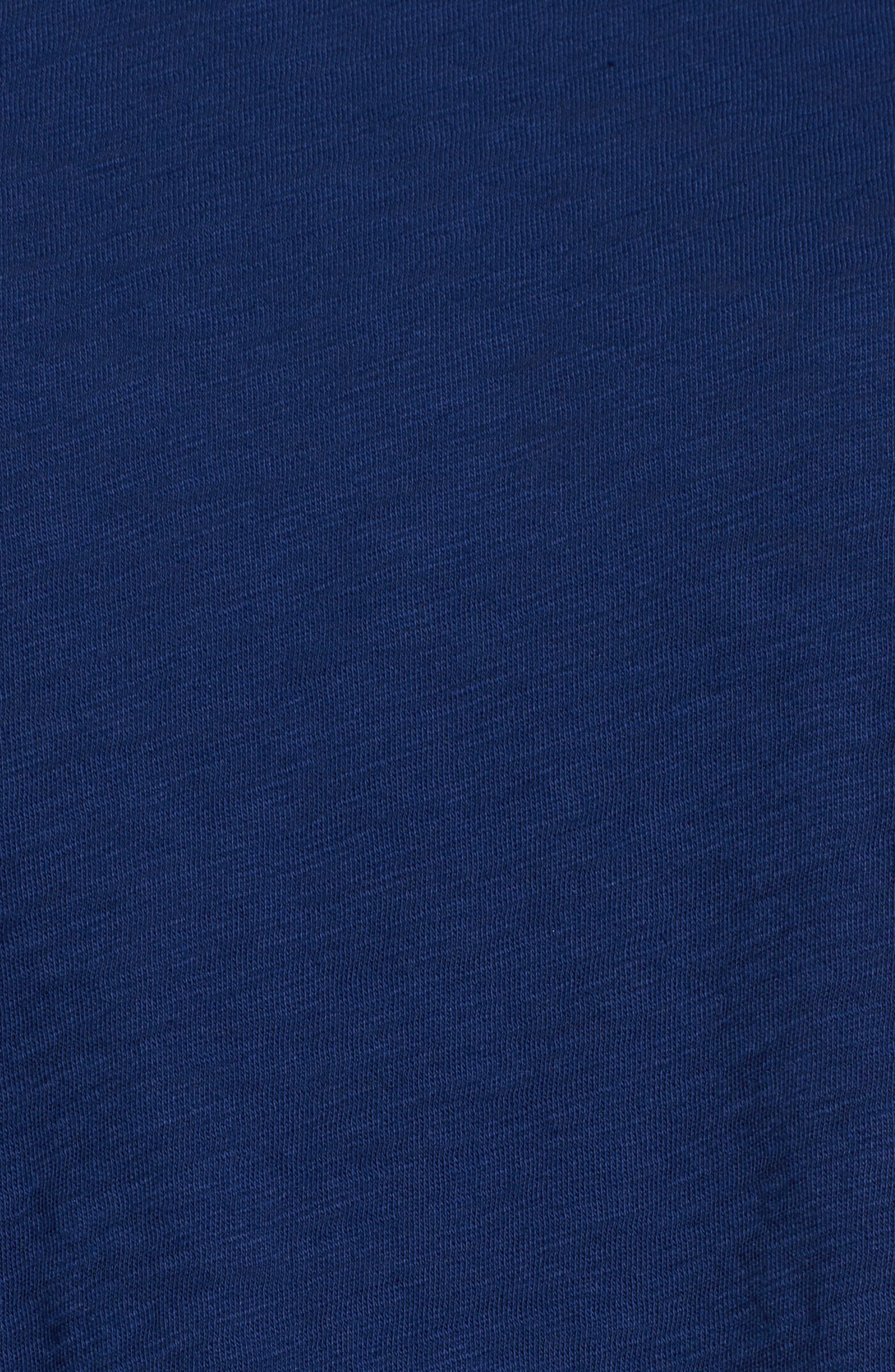 Alternate Image 5  - Caslon® Knotted Tee (Regular & Petite)