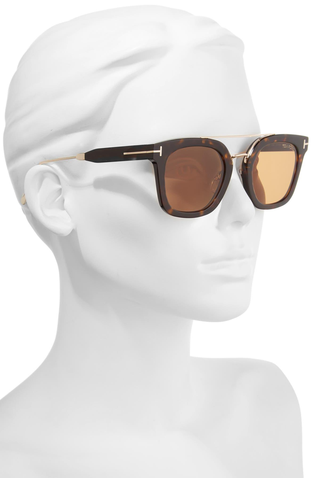Alternate Image 2  - Tom Ford Alex 51mm Sunglasses