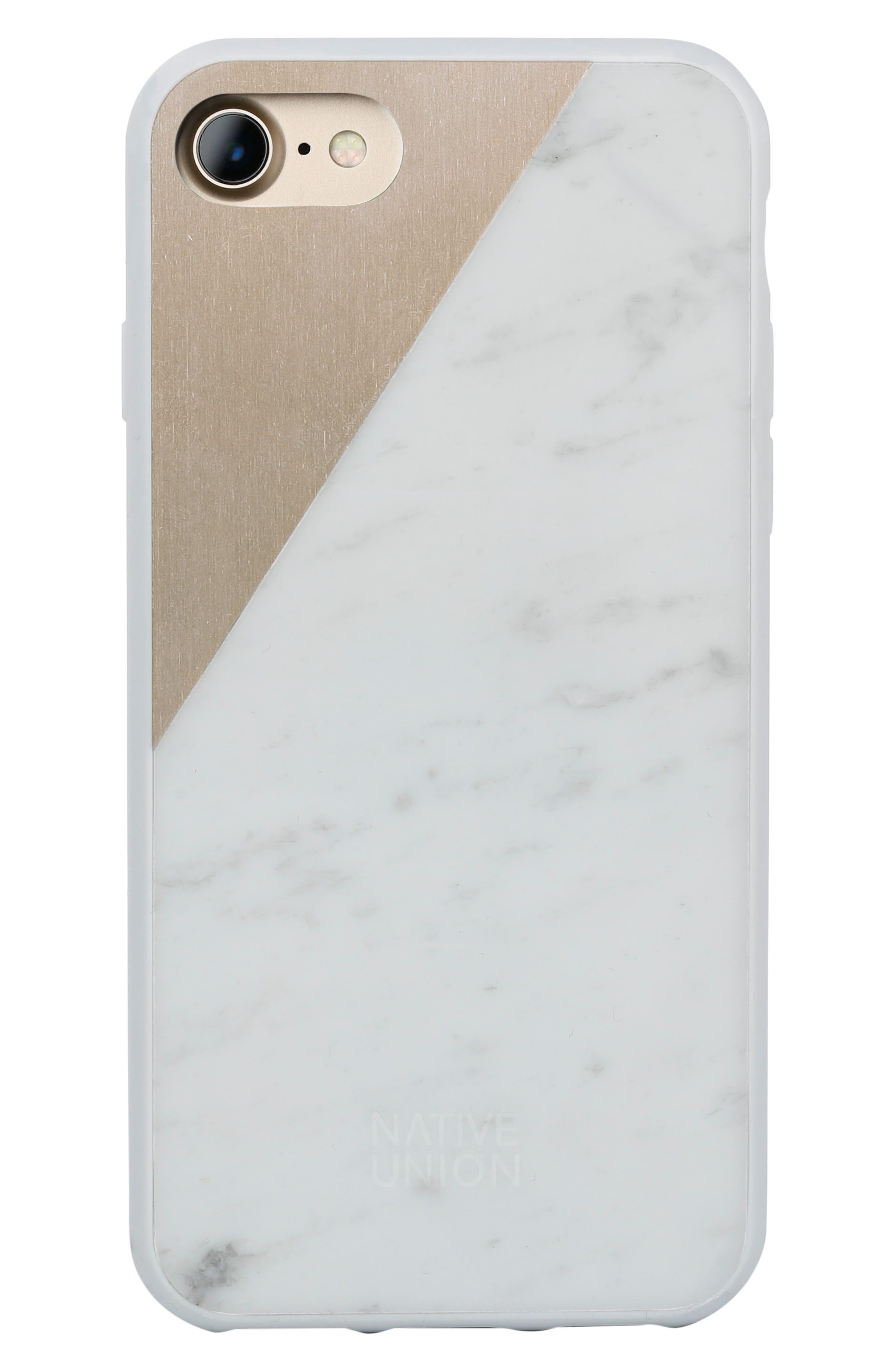 Native Union CLIC Marble iPhone 7 & 7 Plus Case