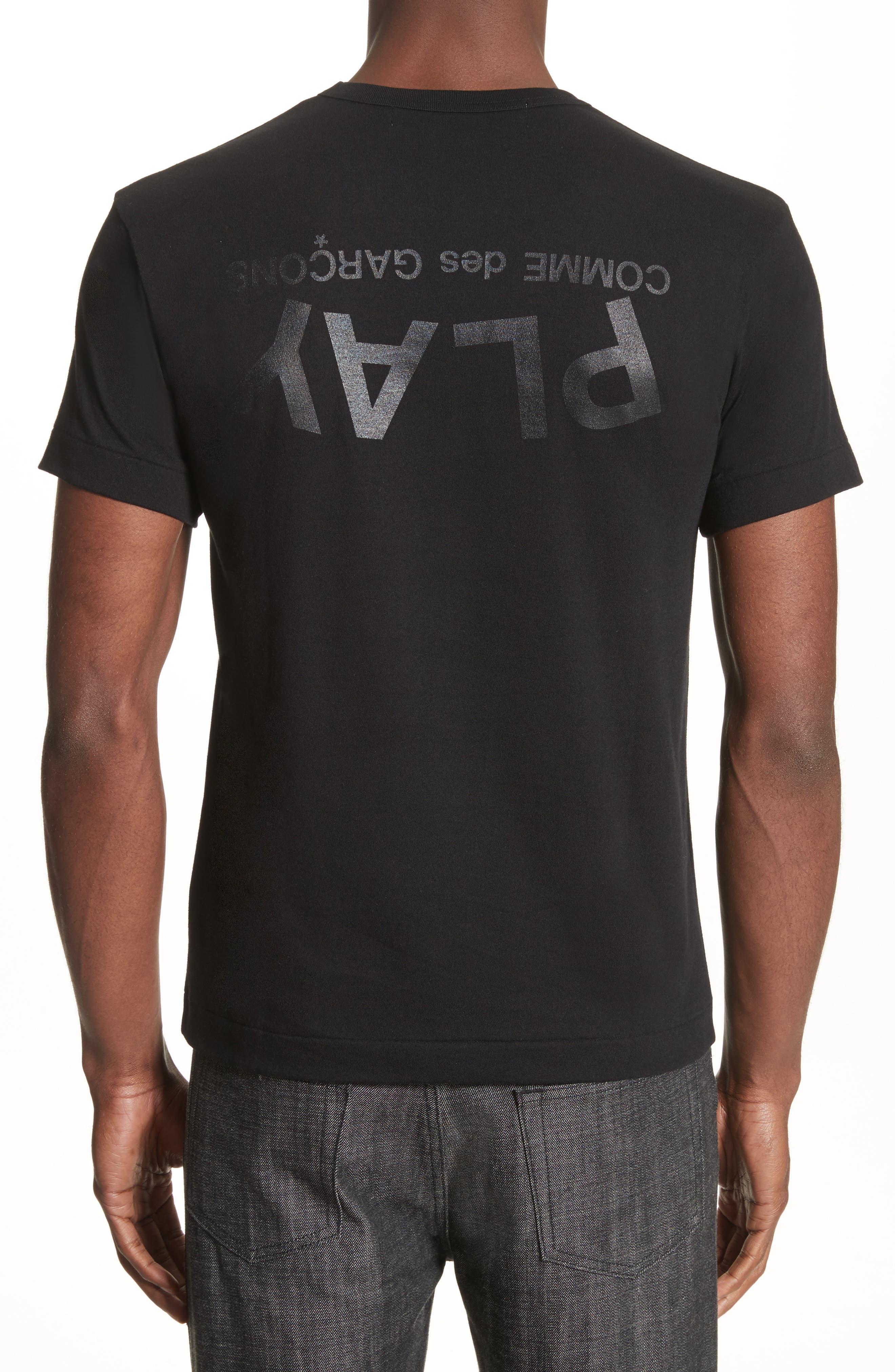 Alternate Image 2  - Comme des Garçons PLAY Graphic T-Shirt