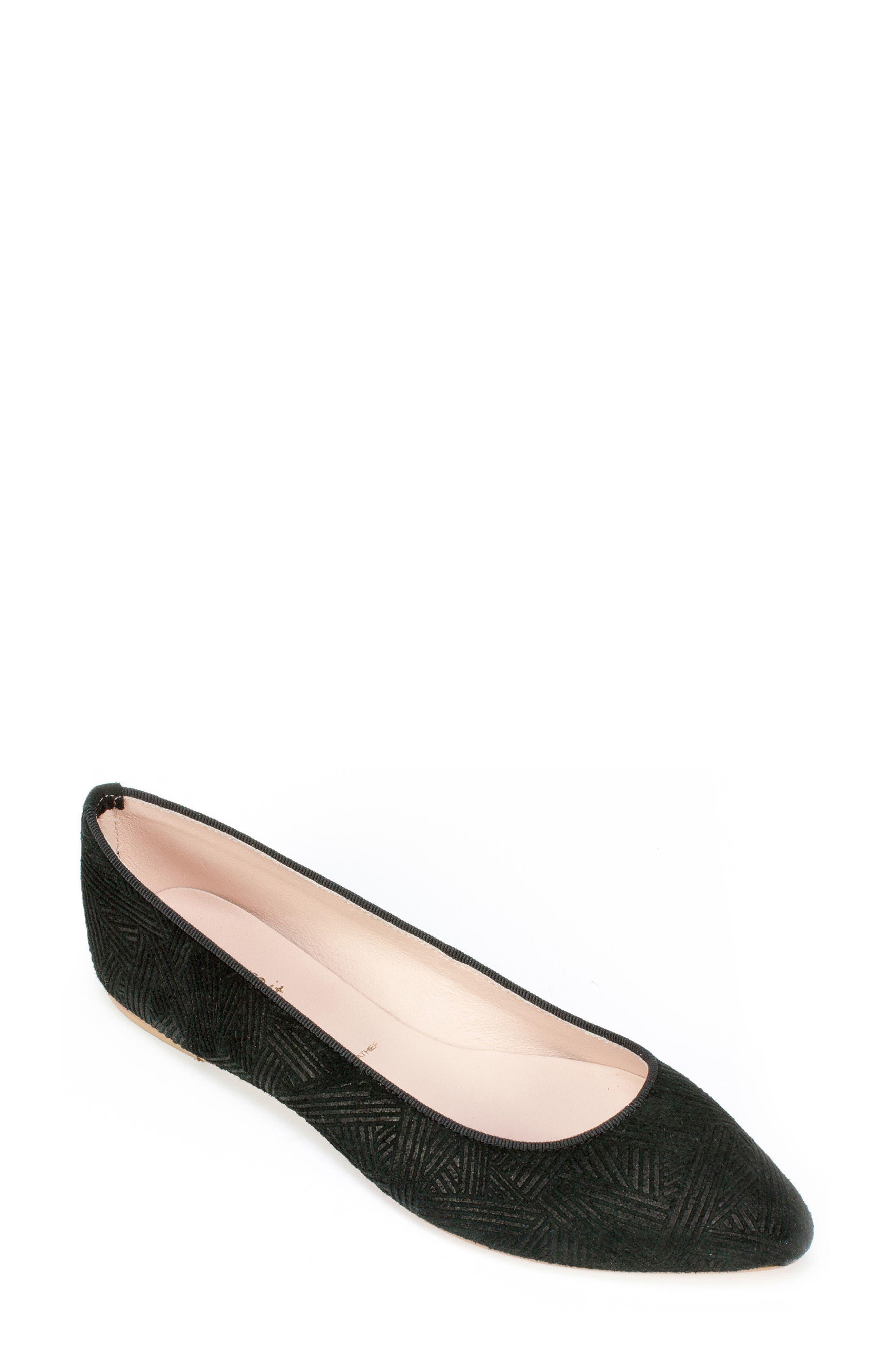 Summit 'Kamora' Pointy Toe Flat (Women)