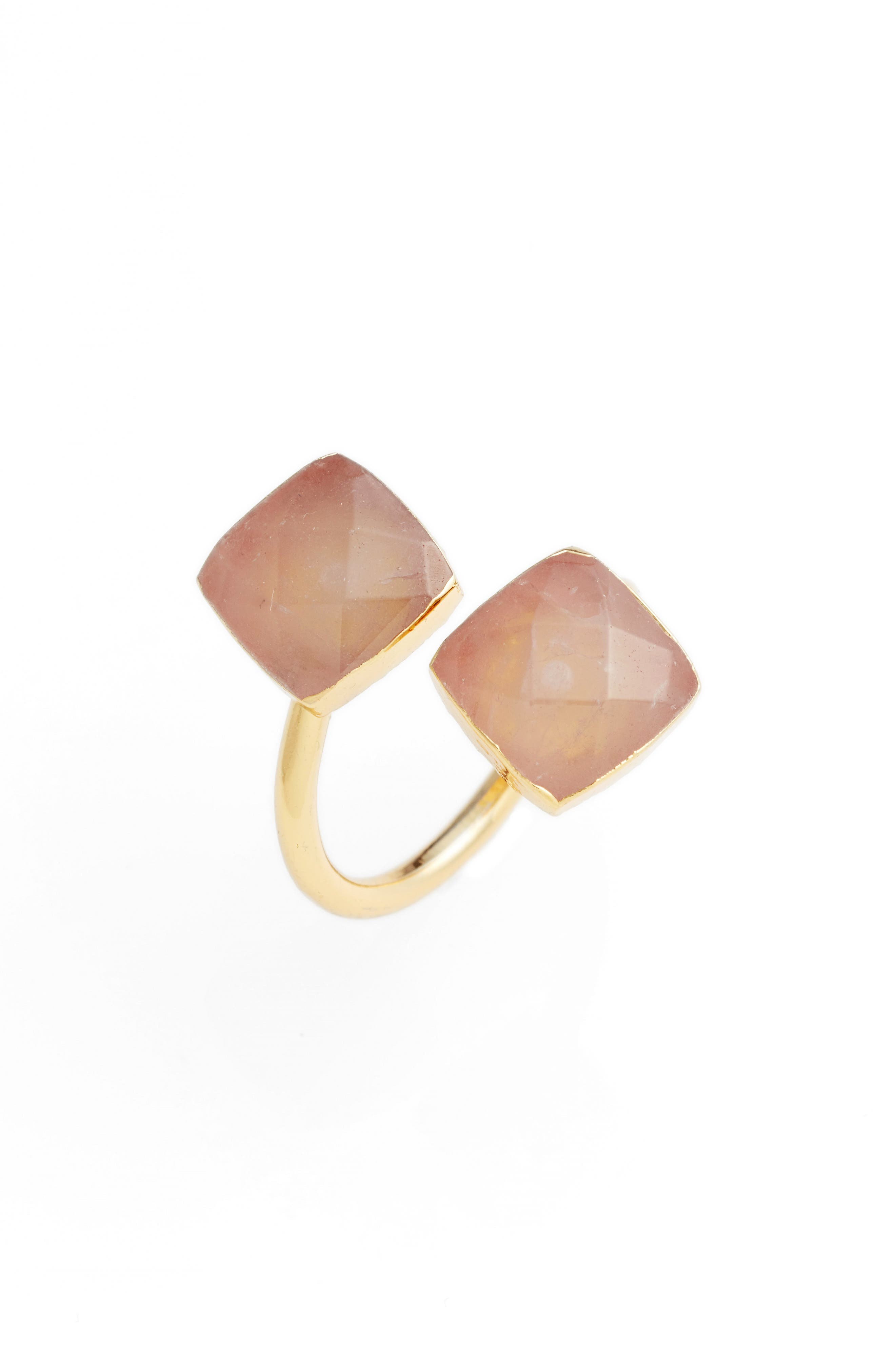 Elise M. Arabesque Semiprecious Stone Adjustable Ring