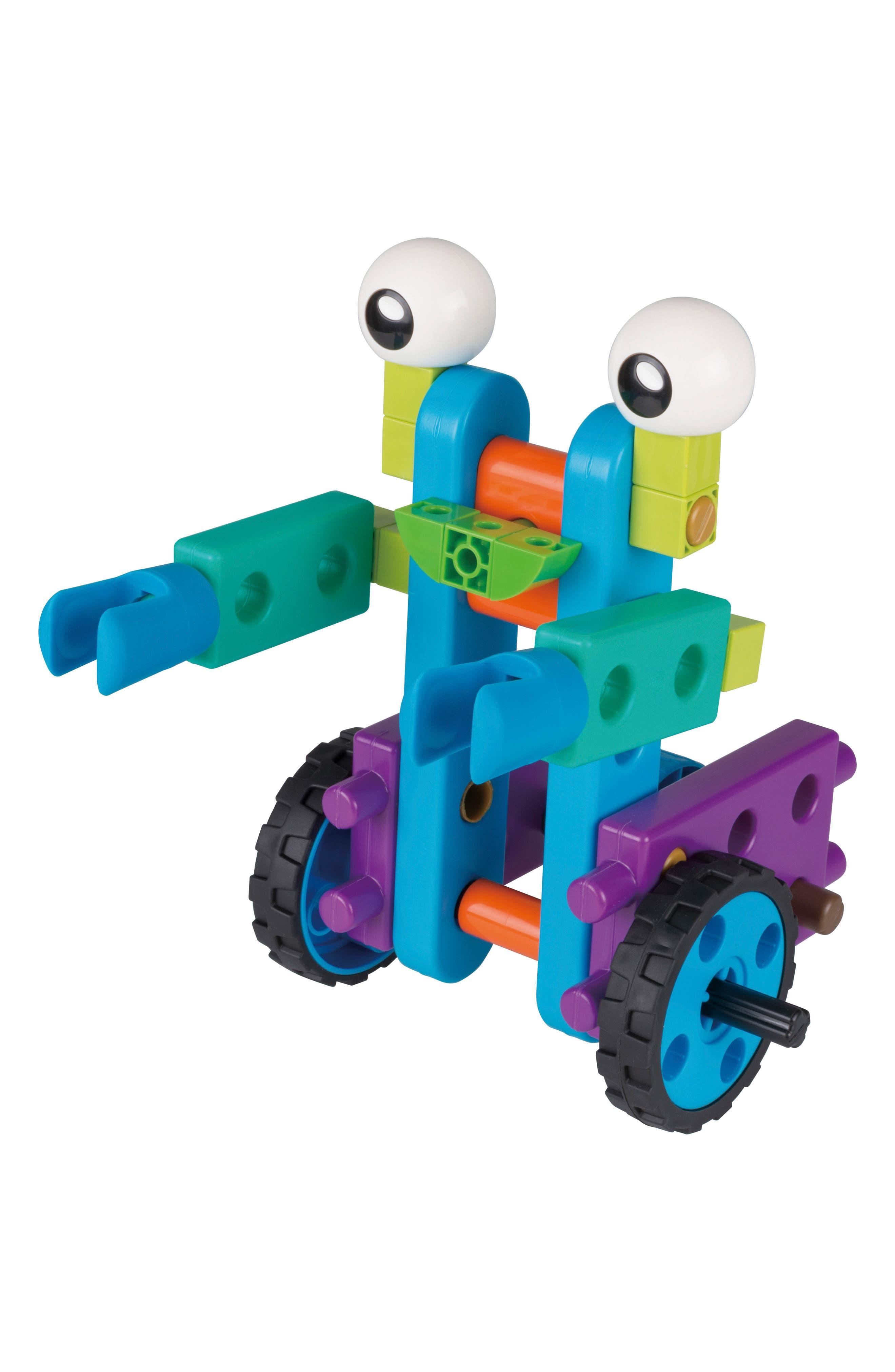 Robot Engineer Building Set & Storybook,                             Alternate thumbnail 6, color,                             Blue