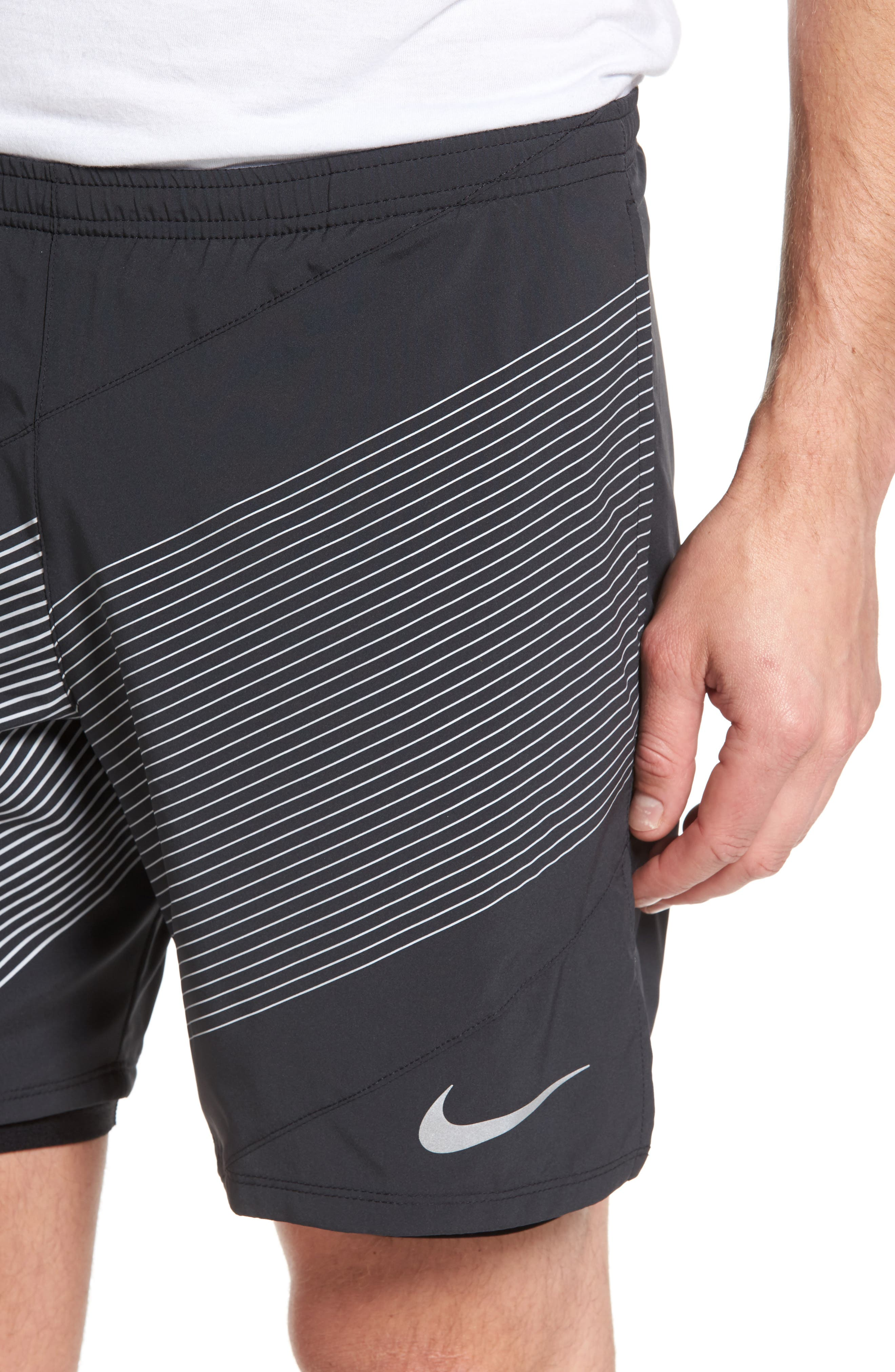 Alternate Image 4  - Nike Flex Running Shorts