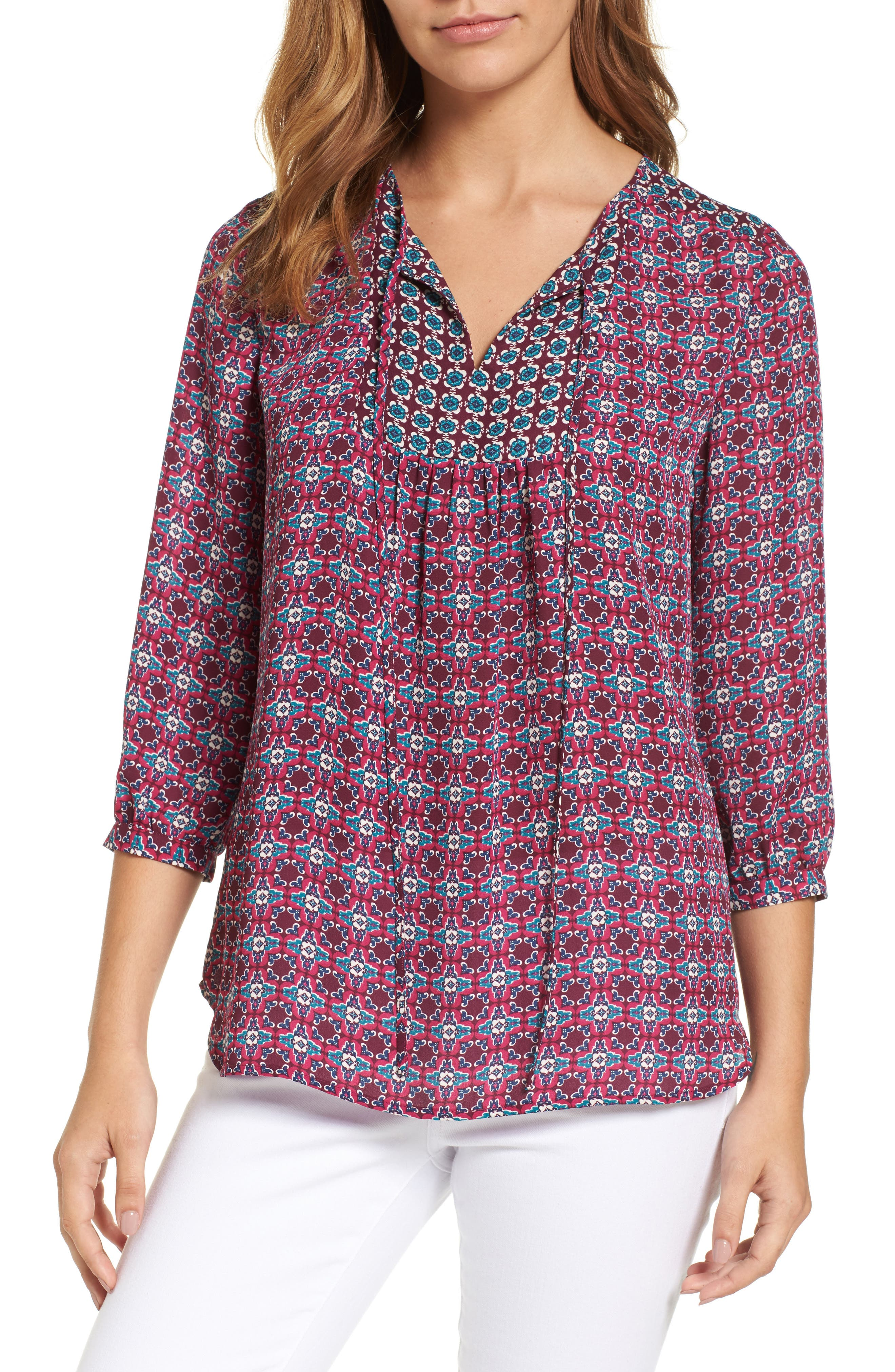 Alternate Image 1 Selected - KUT from the Kloth Maci Floral Top
