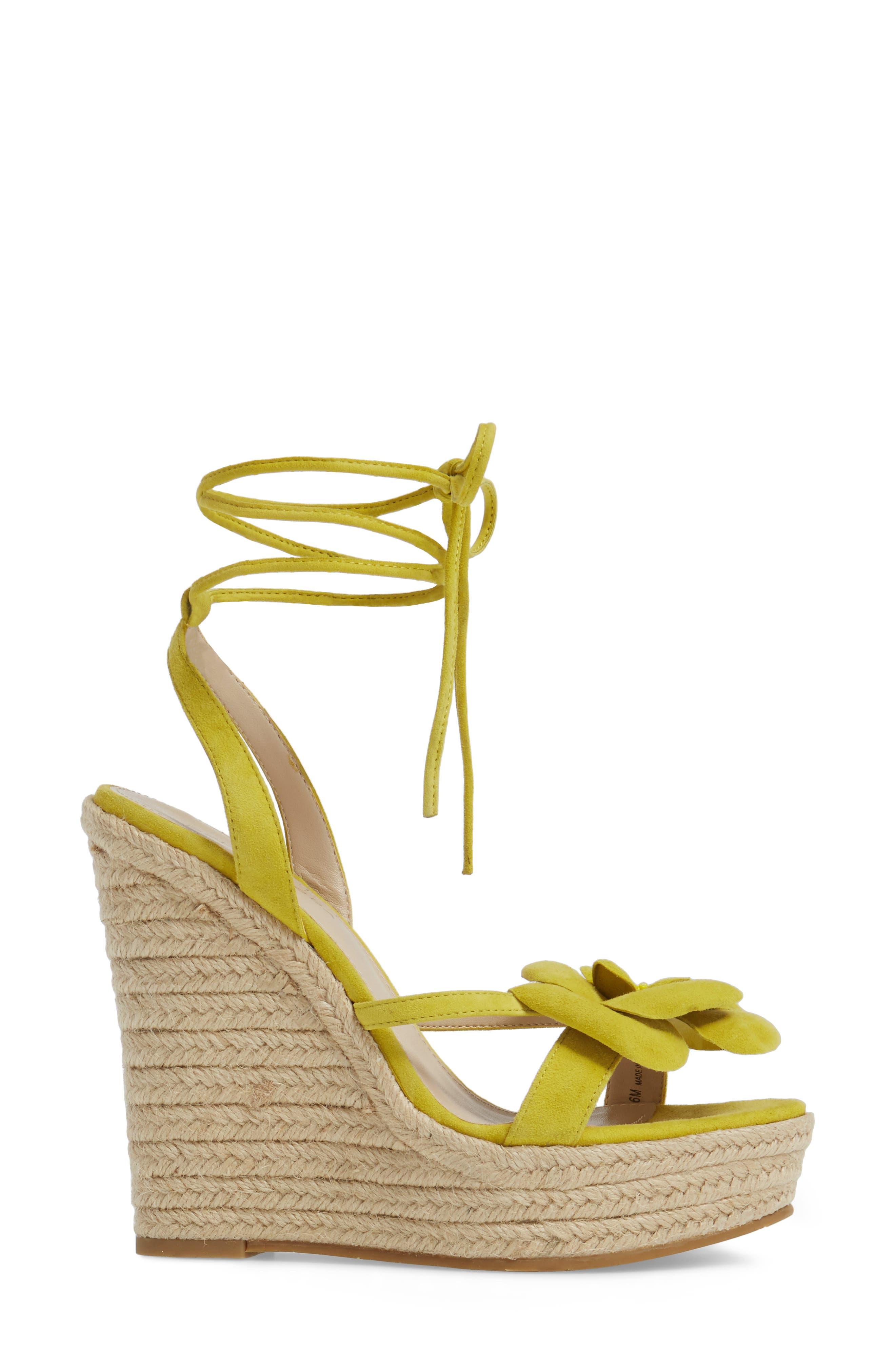 Alternate Image 3  - Pelle Moda Olena Espadrille Wedge Sandal (Women)